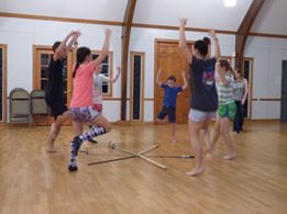 Murphy Highland dance workshop camp