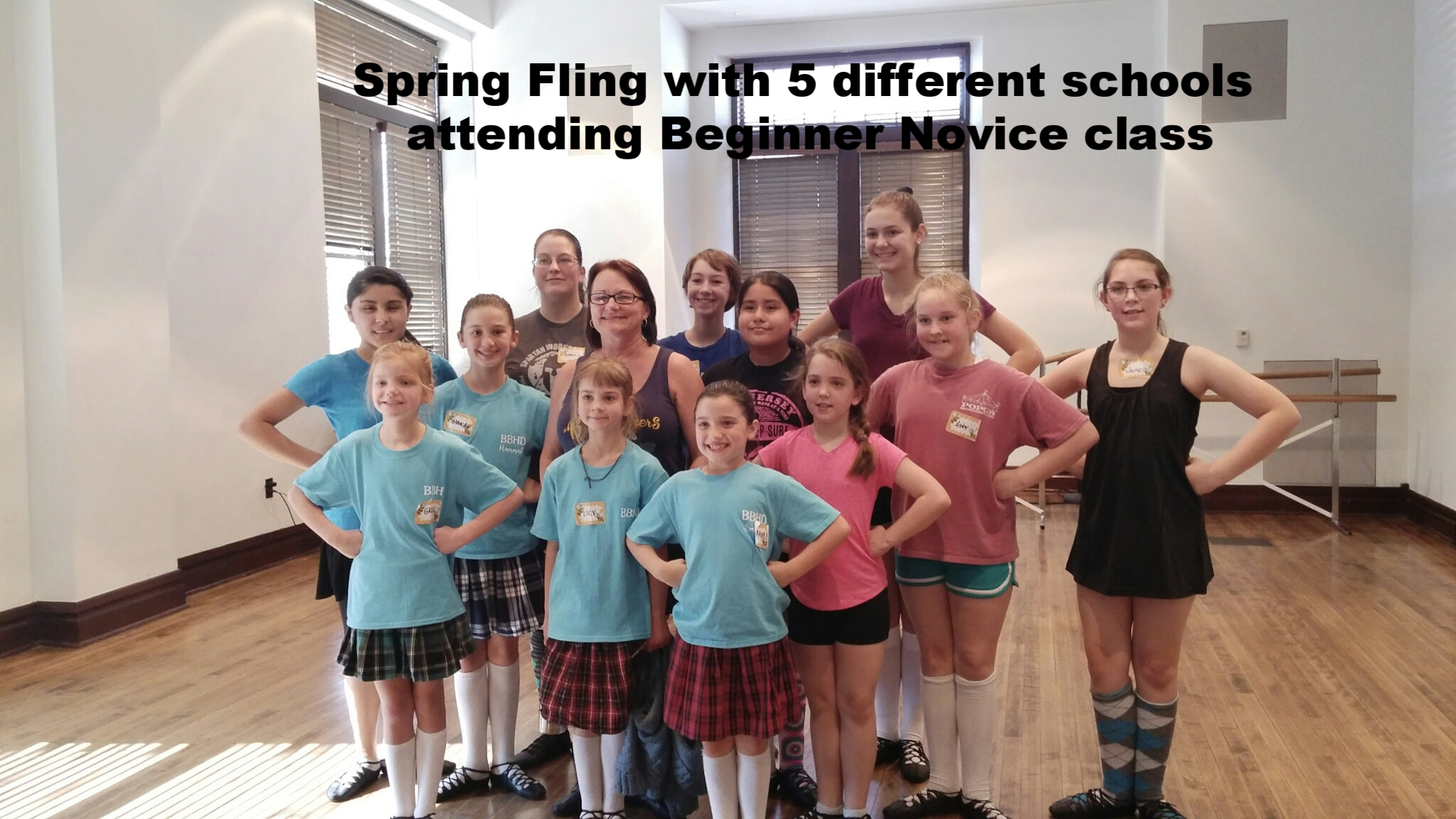 beginner novice highland dancers