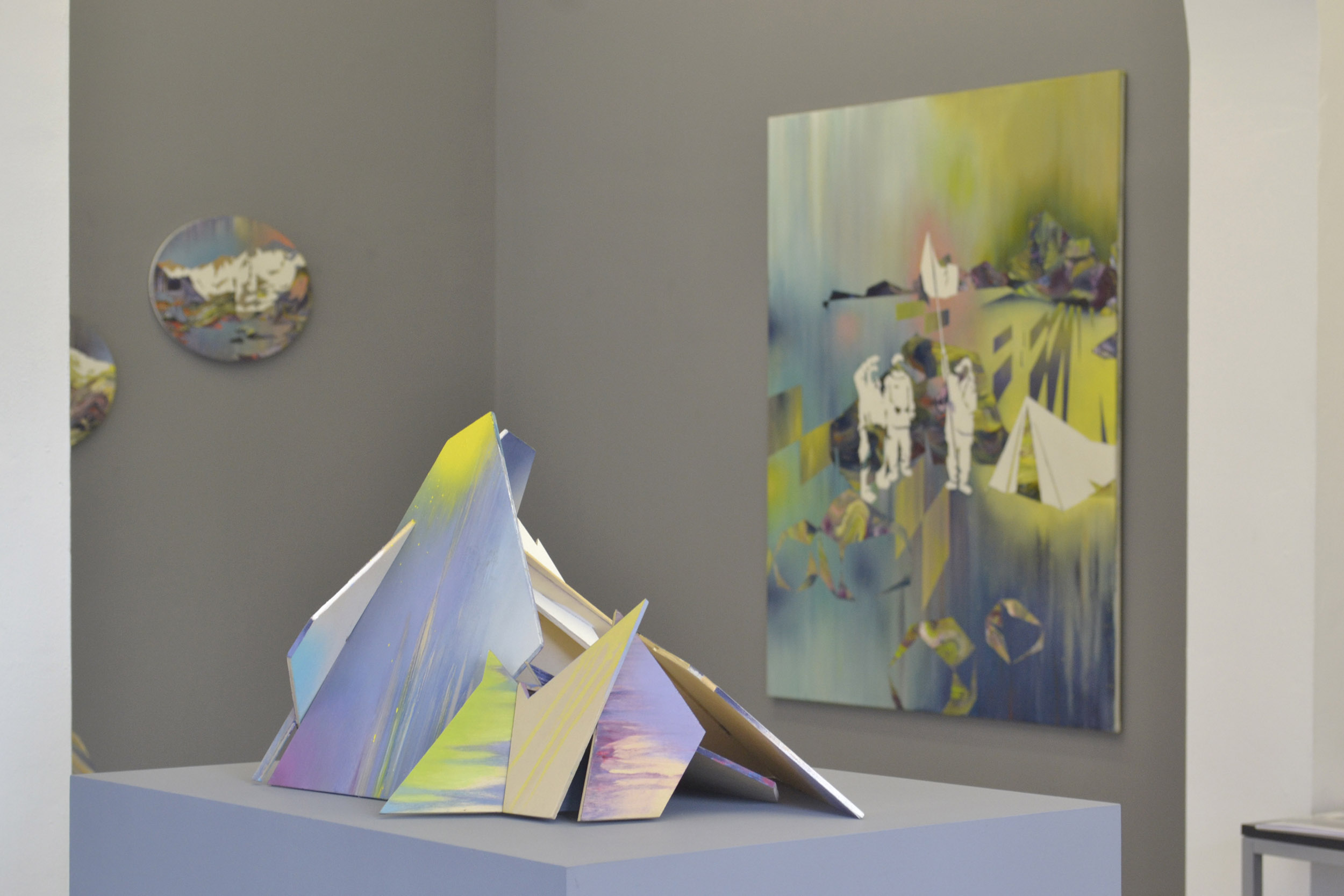 Matthias Moravek, %22Geroell%22, exhibition view11, 2014.jpg