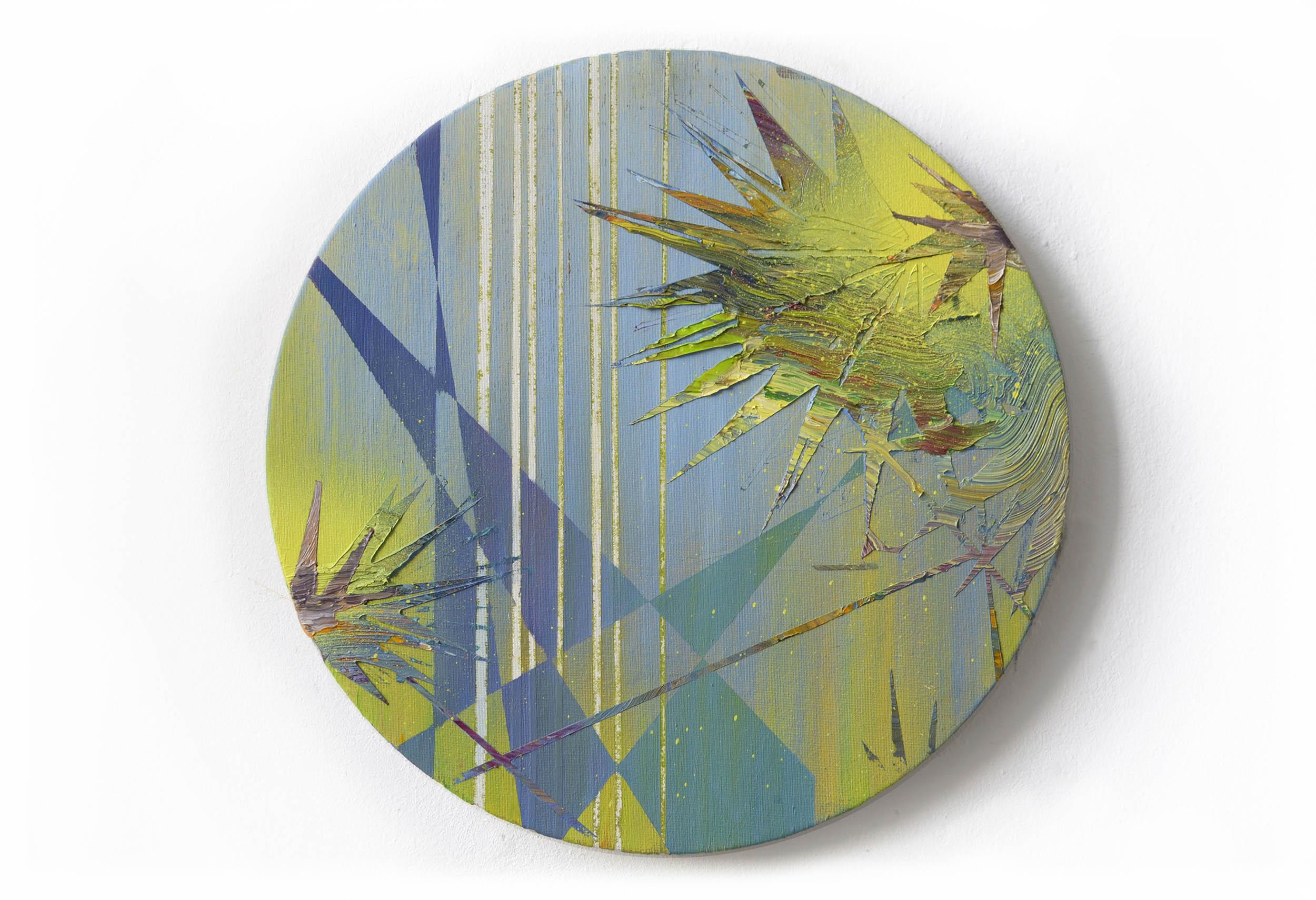 Volta I  oil on canvas 30 x 30 cm, 2013