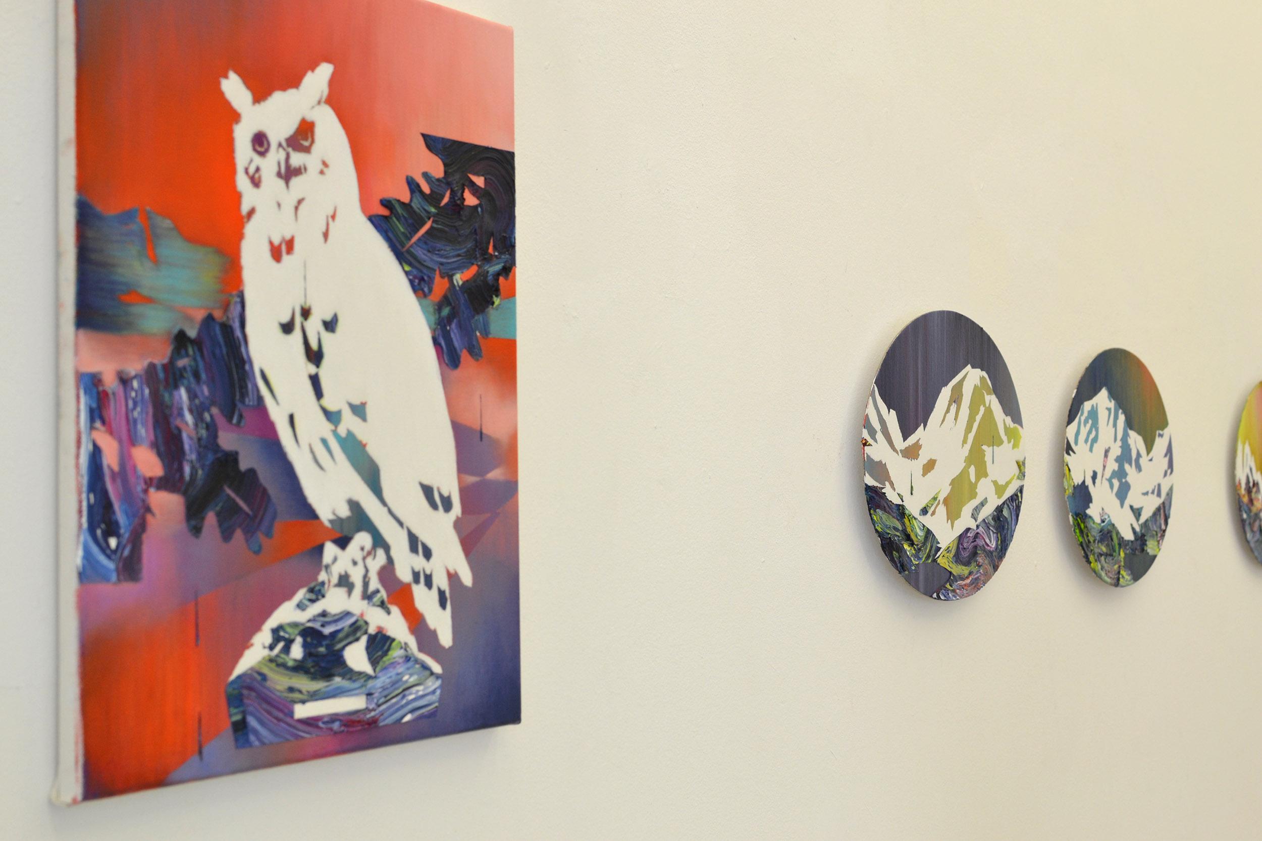Matthias Moravek, %22Gran Paradiso%22, exhibition view9, 2011.jpg