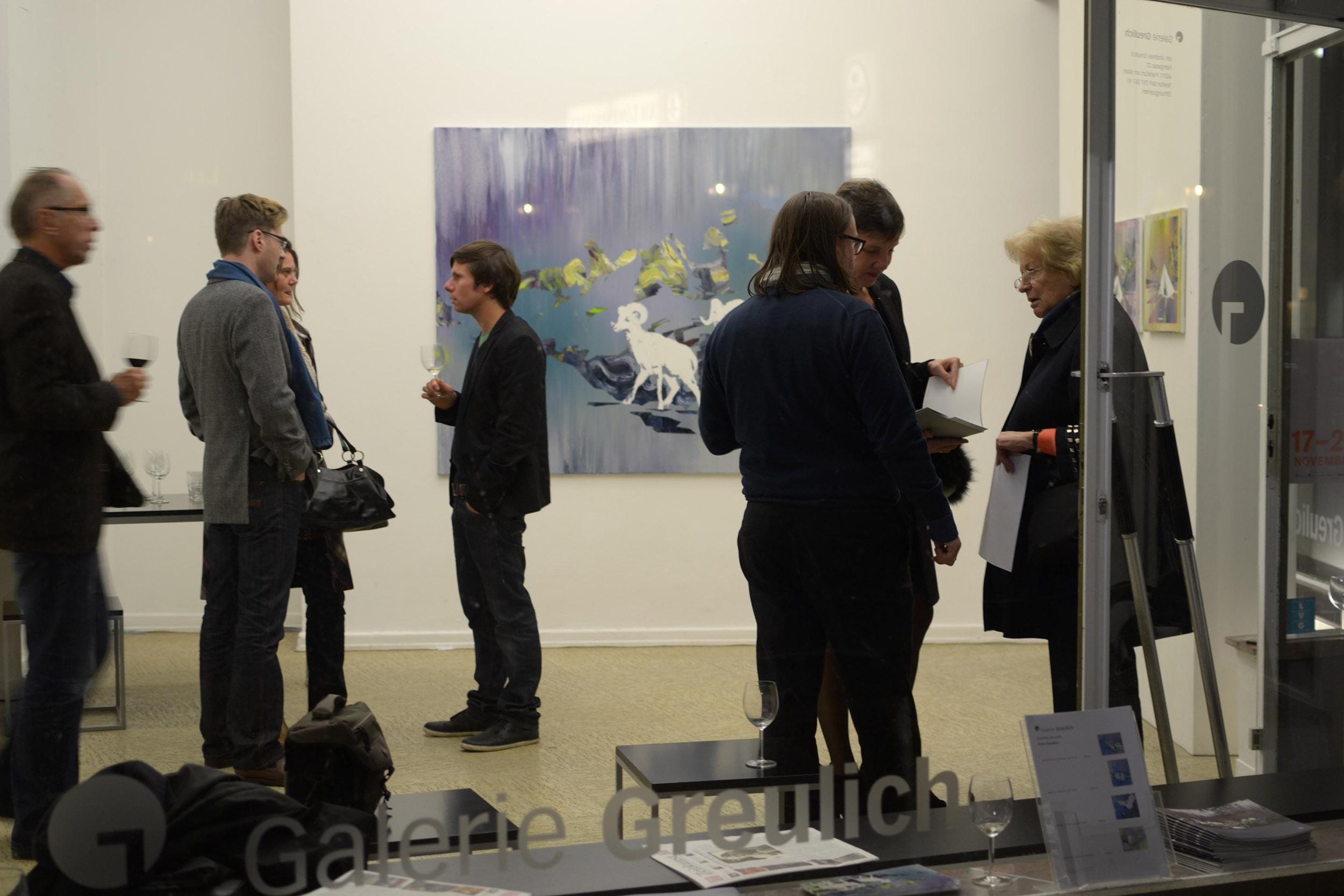 Gran Paradiso  Galerie Greulich Frankfurt/Main, 2011