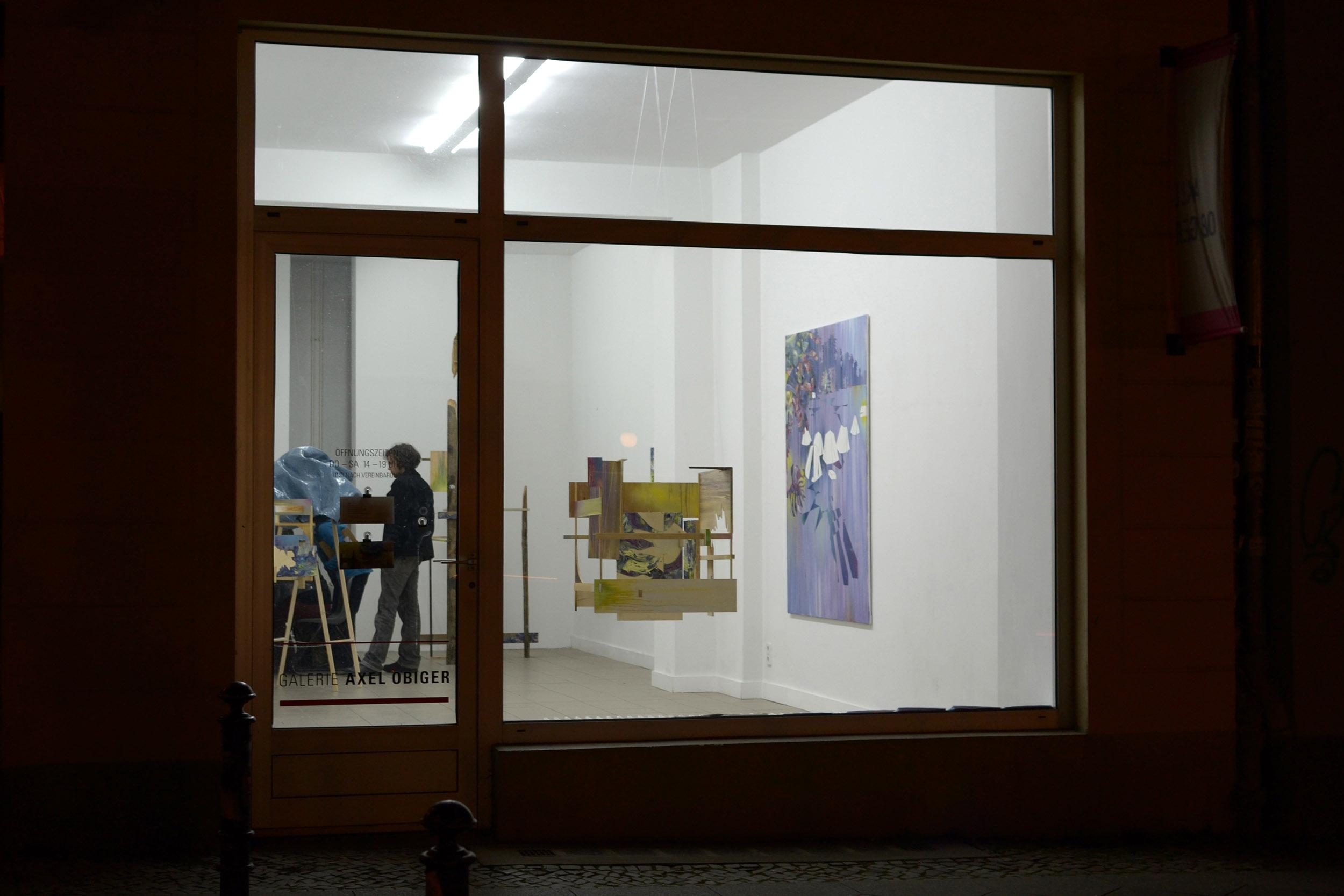 Mübafix  Galerie Axel Obiger Berlin, 2013