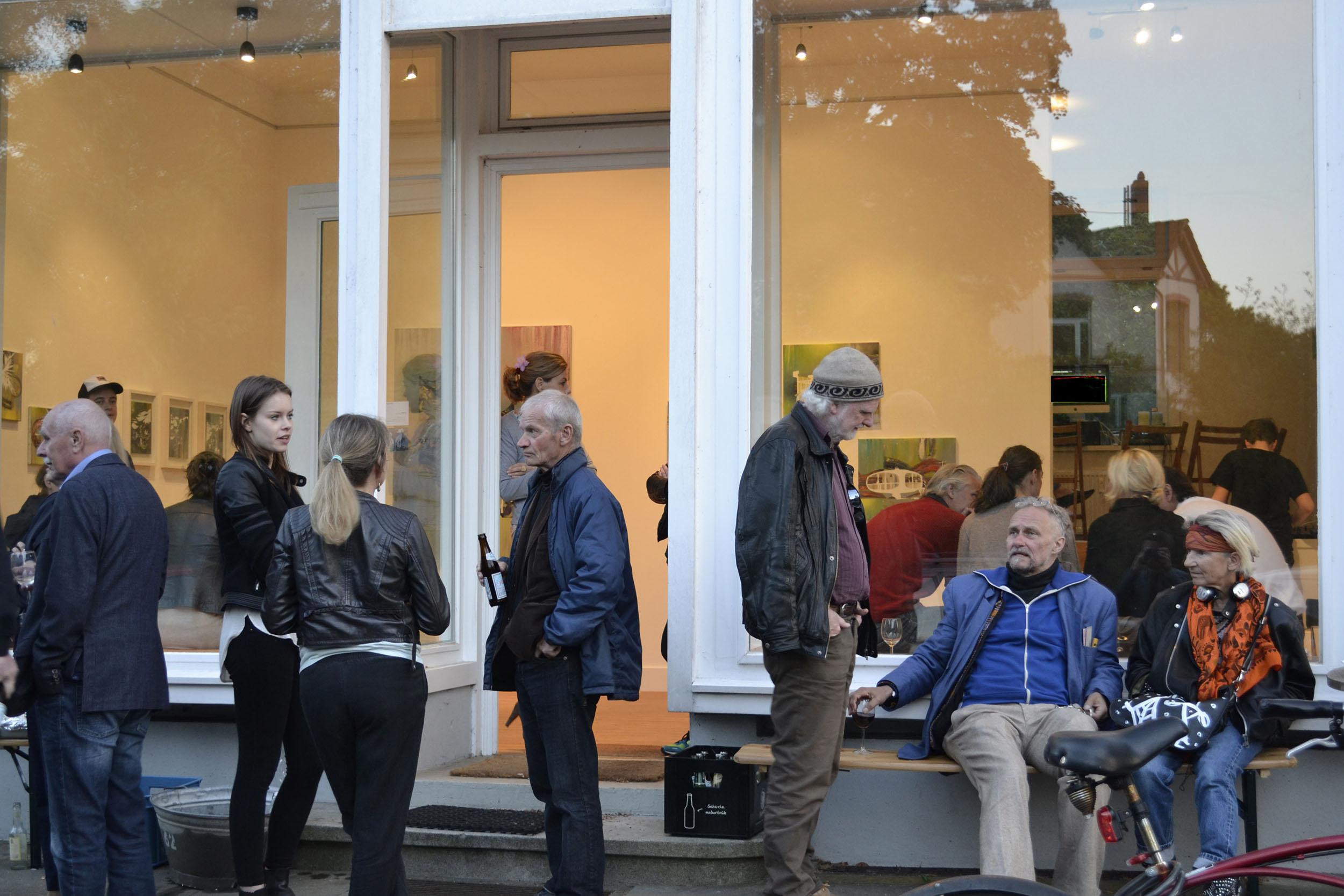 Riviera   Galerie Borssenanger Hamburg,2014