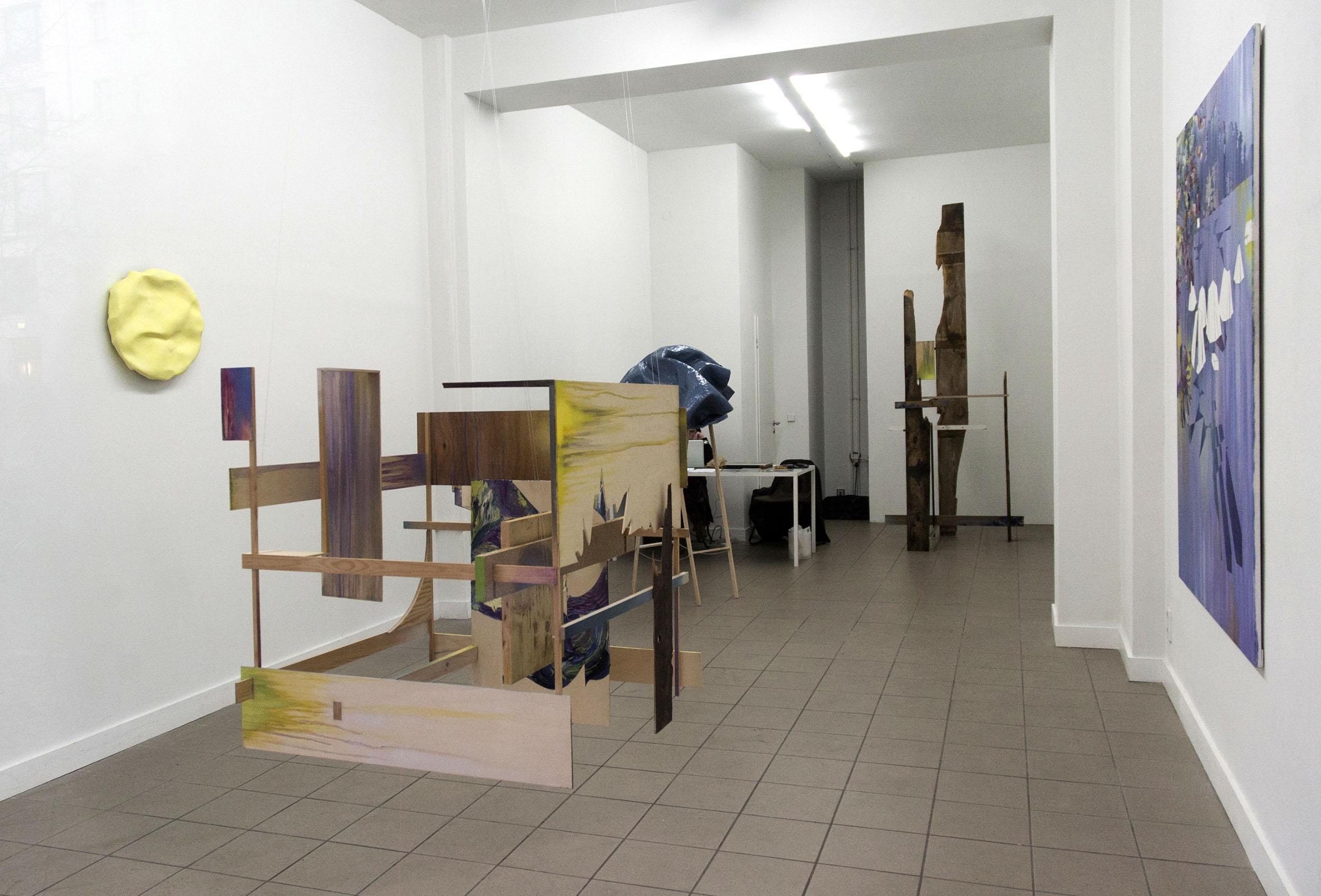 Mübafix 240, Mübafix 48  Matthias Moravek &  Gabriele Künne  exhibition view