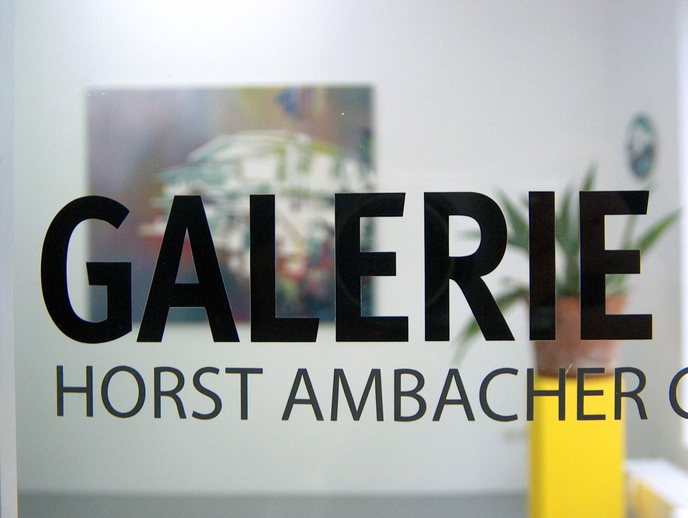 Auf Achse  Ambacher Contemporary München, 2010