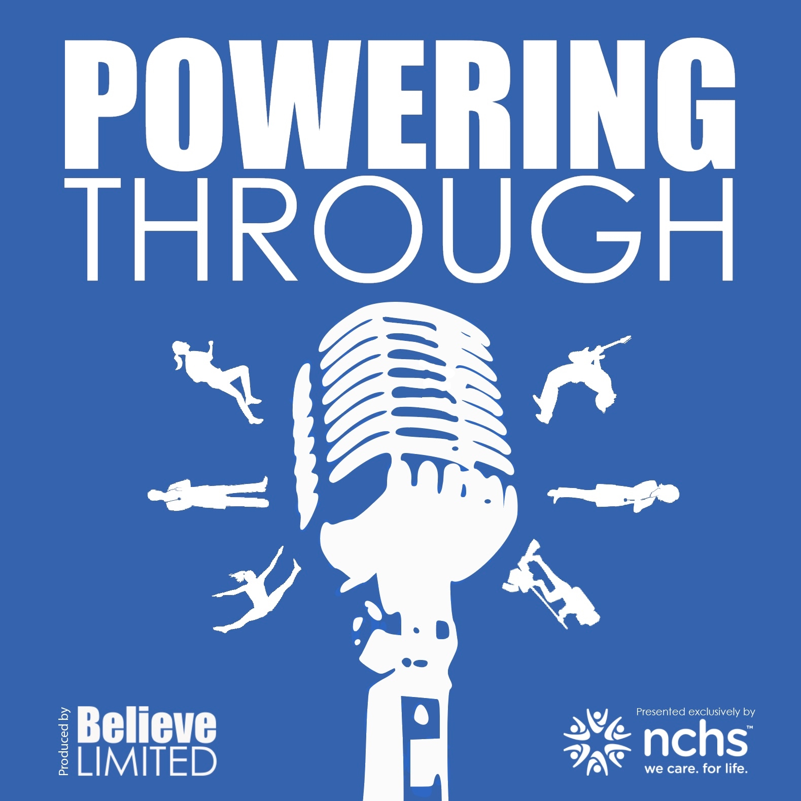 The Powering Through Podcast  is recorded live at Believe's nationwide Powering Through events, where we bring influencers from inside and outside of the community, of all ages and demos together to talk about overcoming life's obstacles. Powering Through podcast is brought to you by  National Cornerstone Healthcare Services (NCHS) , created and produced by  Believe Limited  and hosted by  Patrick James Lynch .