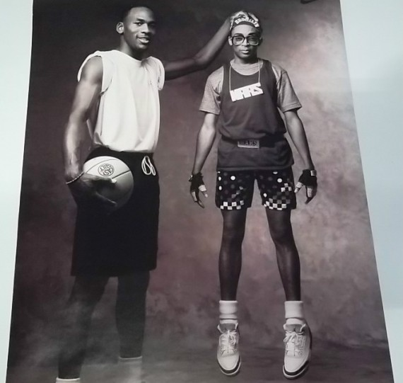 Mars Blackmon and Michael Jordan