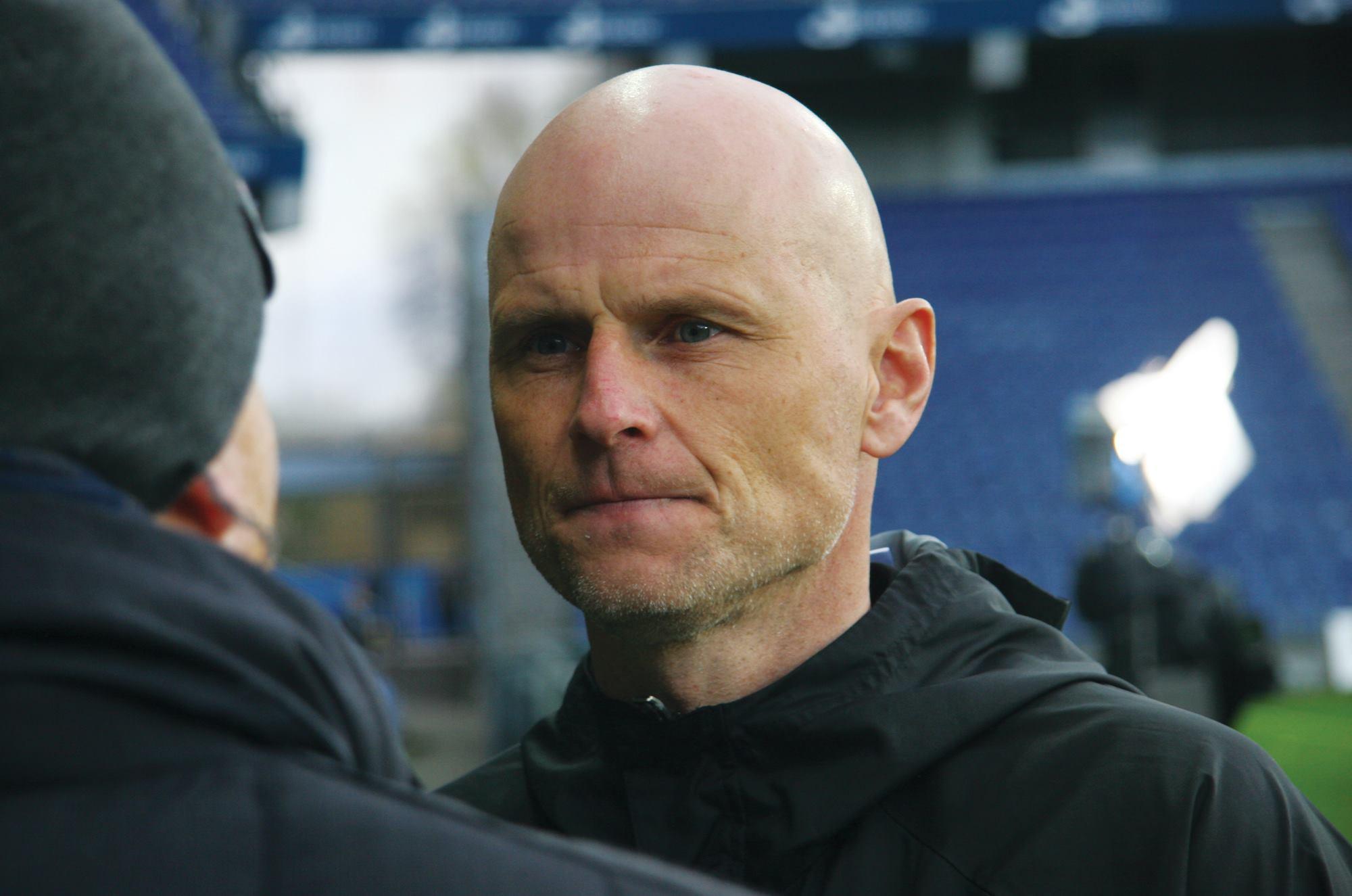 Ståle Solbakken efter 0-1 sejren i Derby nummer 100. Foto: David E. Bastian-Møller