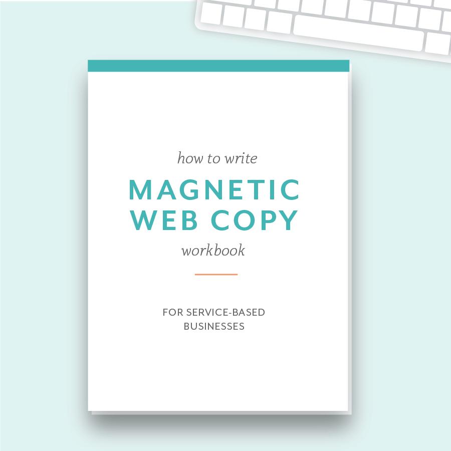 Hellohappen Web copy workbook