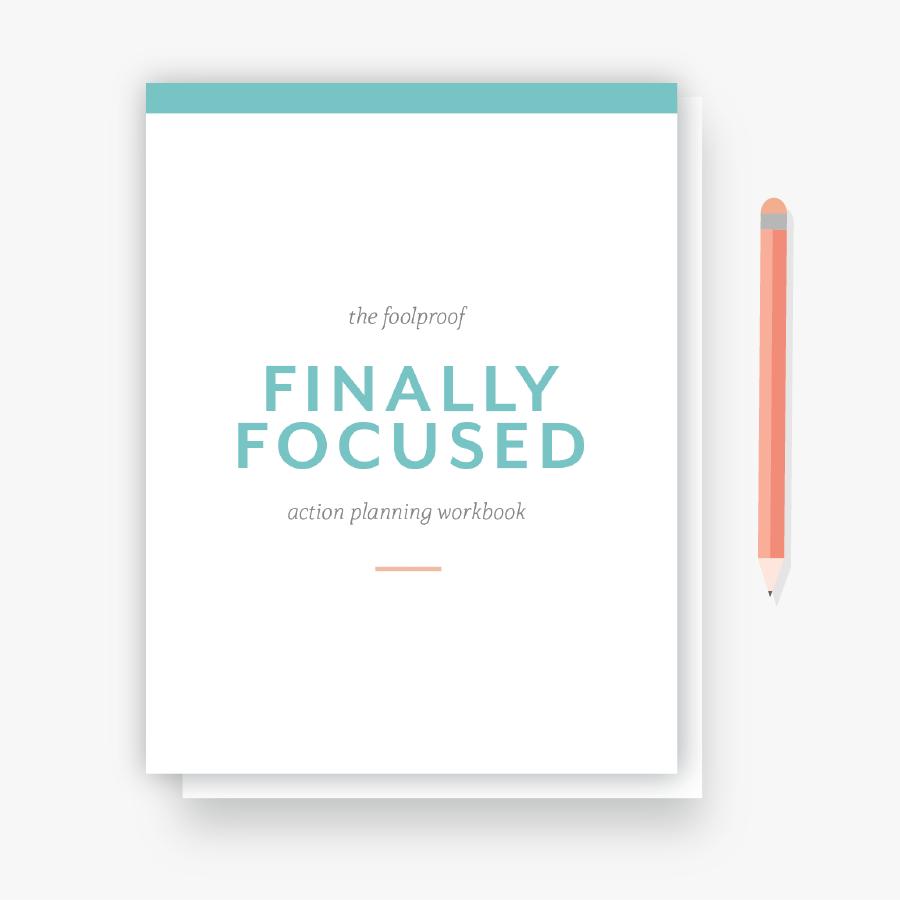 Hellohappen Focused Action Plan workbook