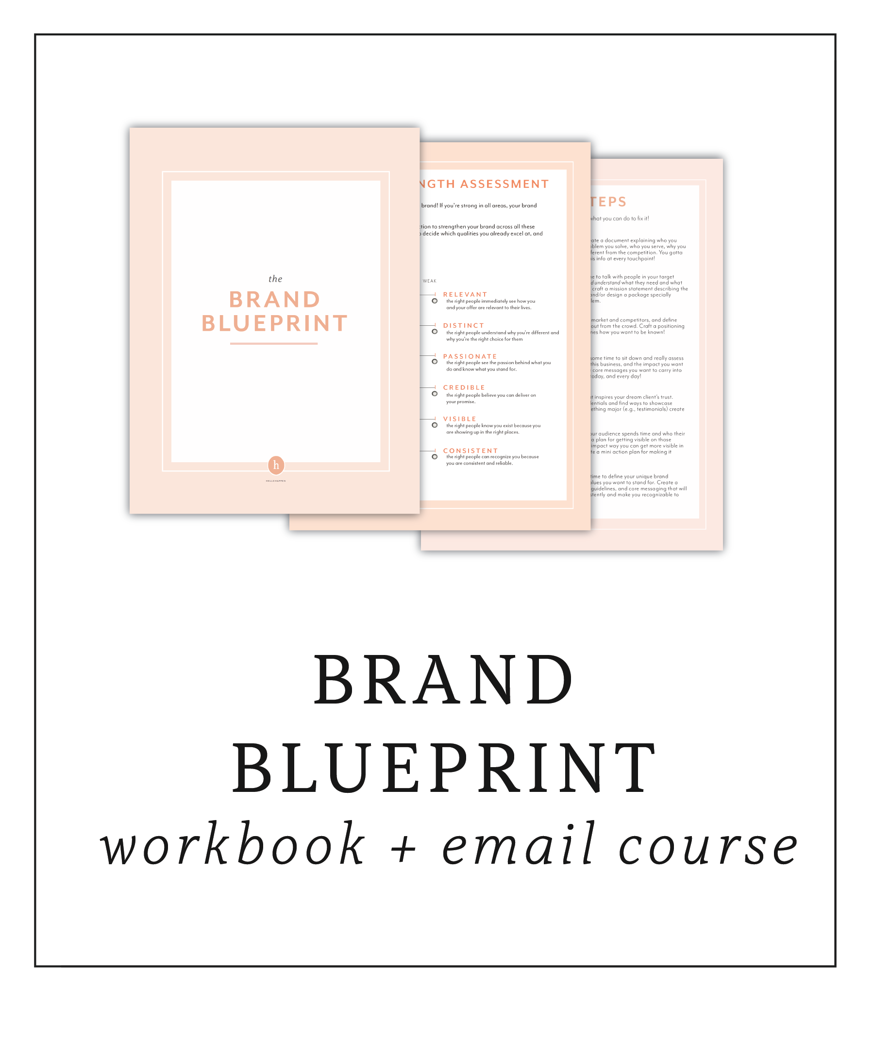 Brand Strategy Blueprint workbook and course