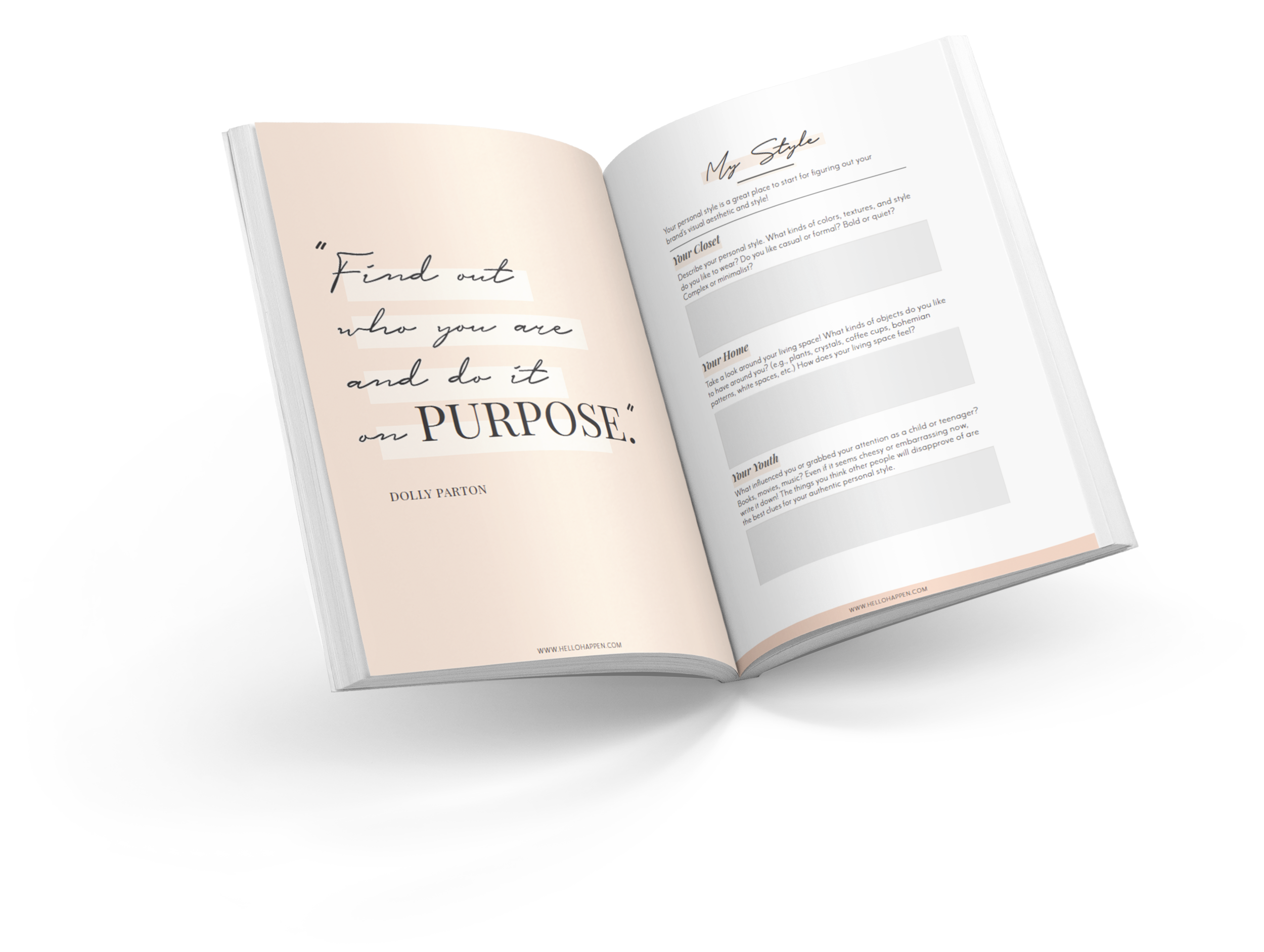 Hellohappen Brand Discovery Workbook