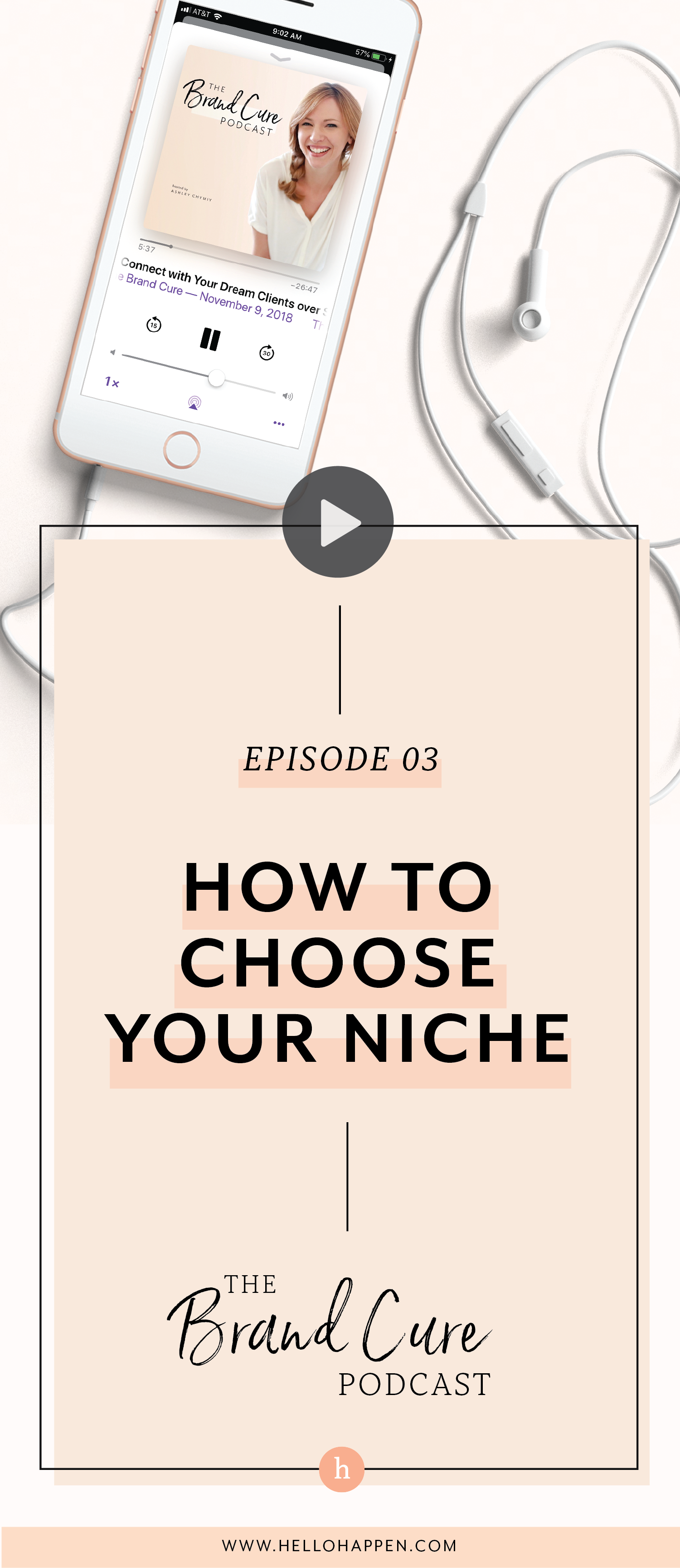 How do you choose the right niche for your business? Here's how to do it, even if you have commitment issues! Read the post, plus download the free Brand Blueprint + email course. // Hellohappen Brand Strategy