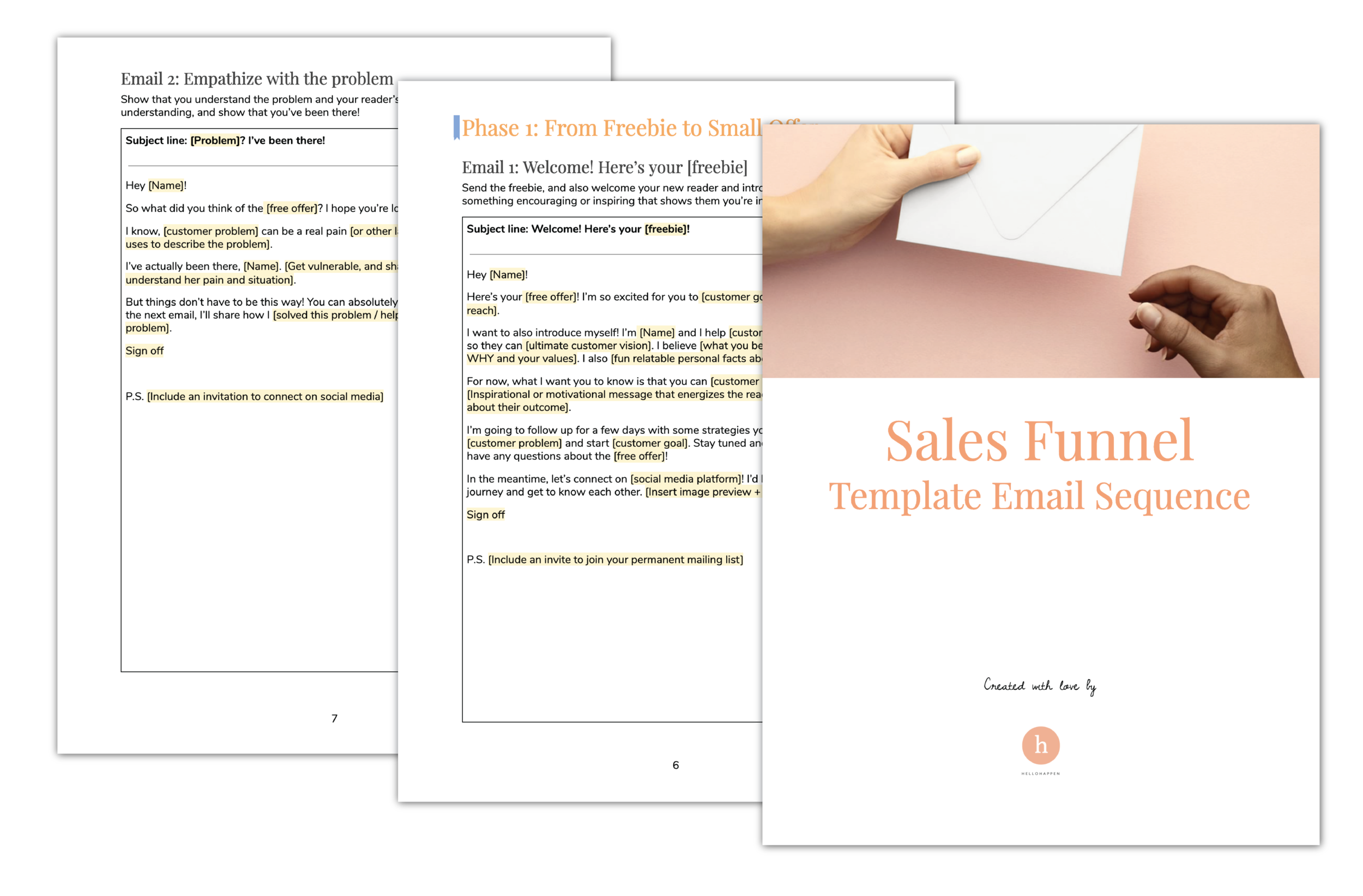 Sales Funnel Email Sequence Templates