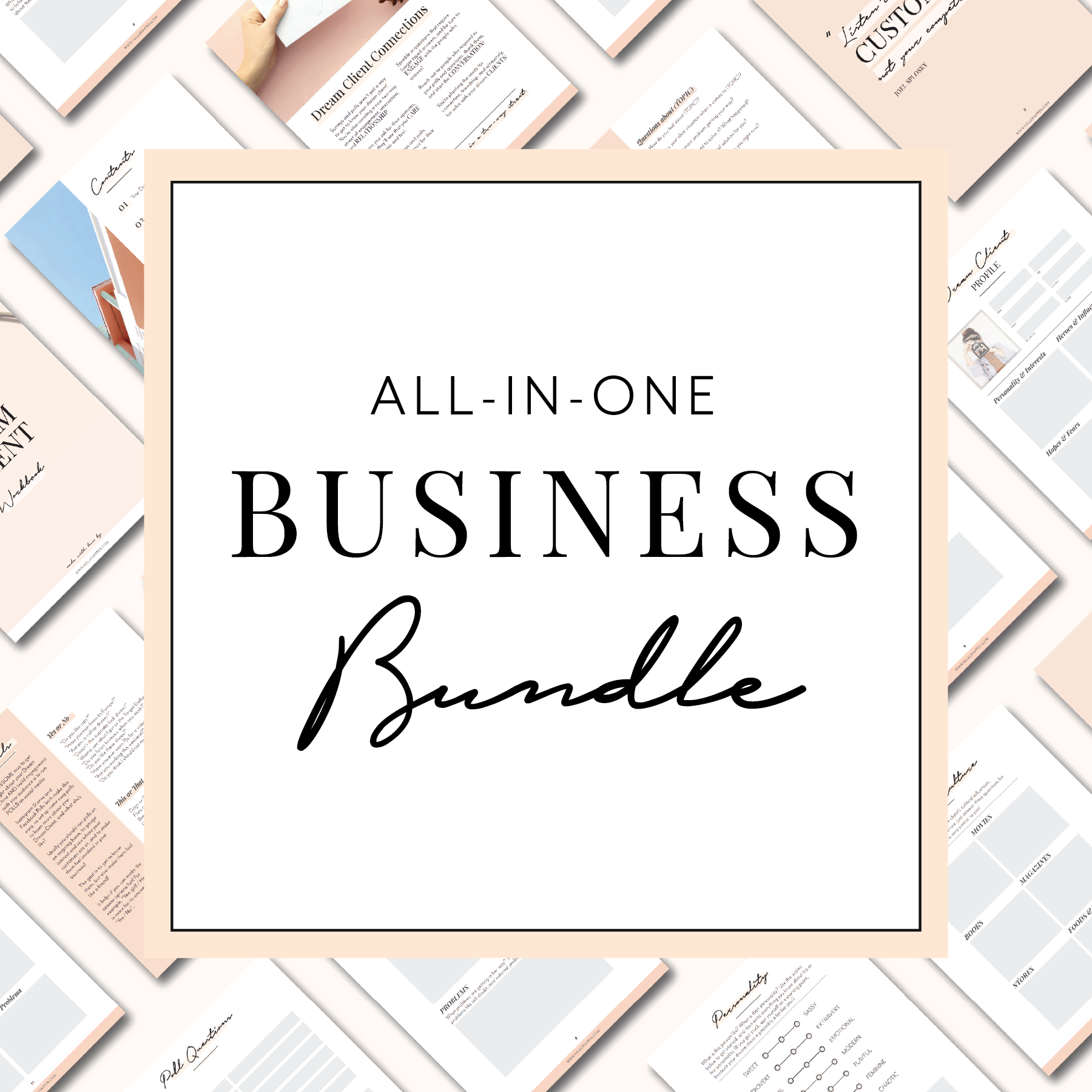 All in one business bundle