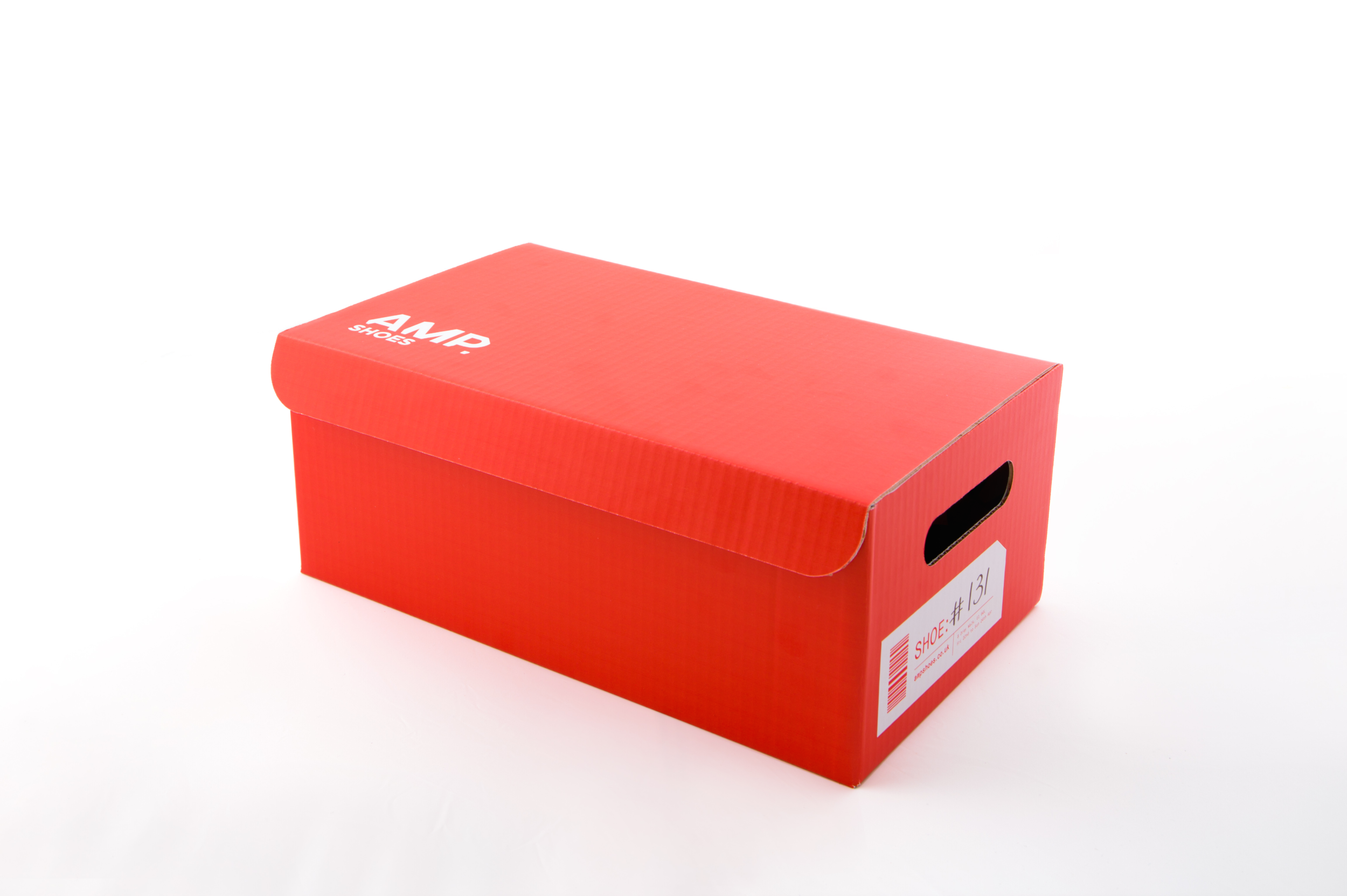 Direct mail came in the form of shoeboxes