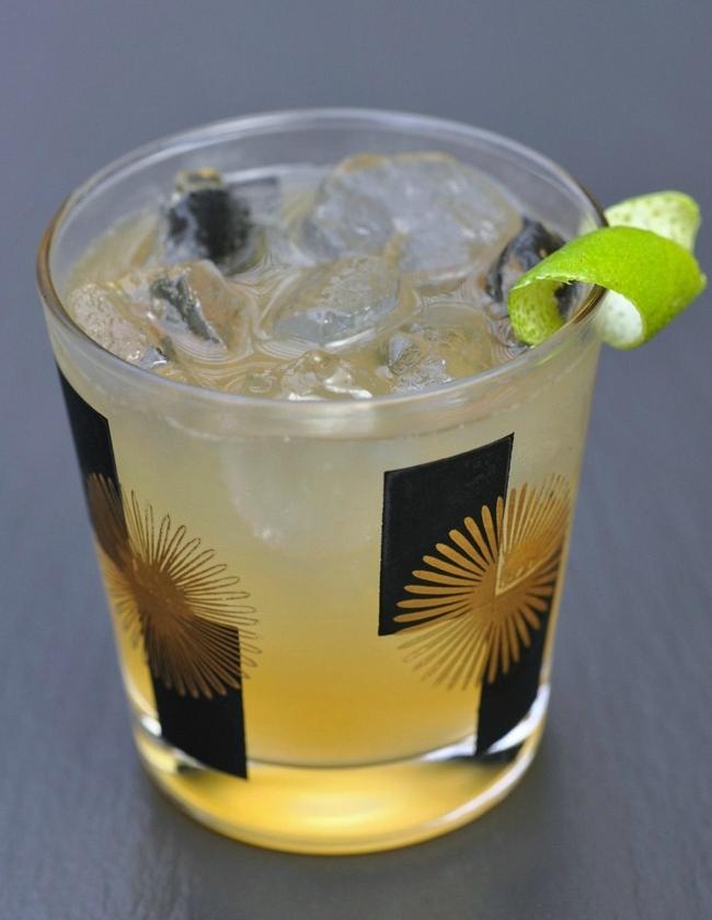 Ginger Sez   Syrup: Ginger Ginger  Spirit: Rye