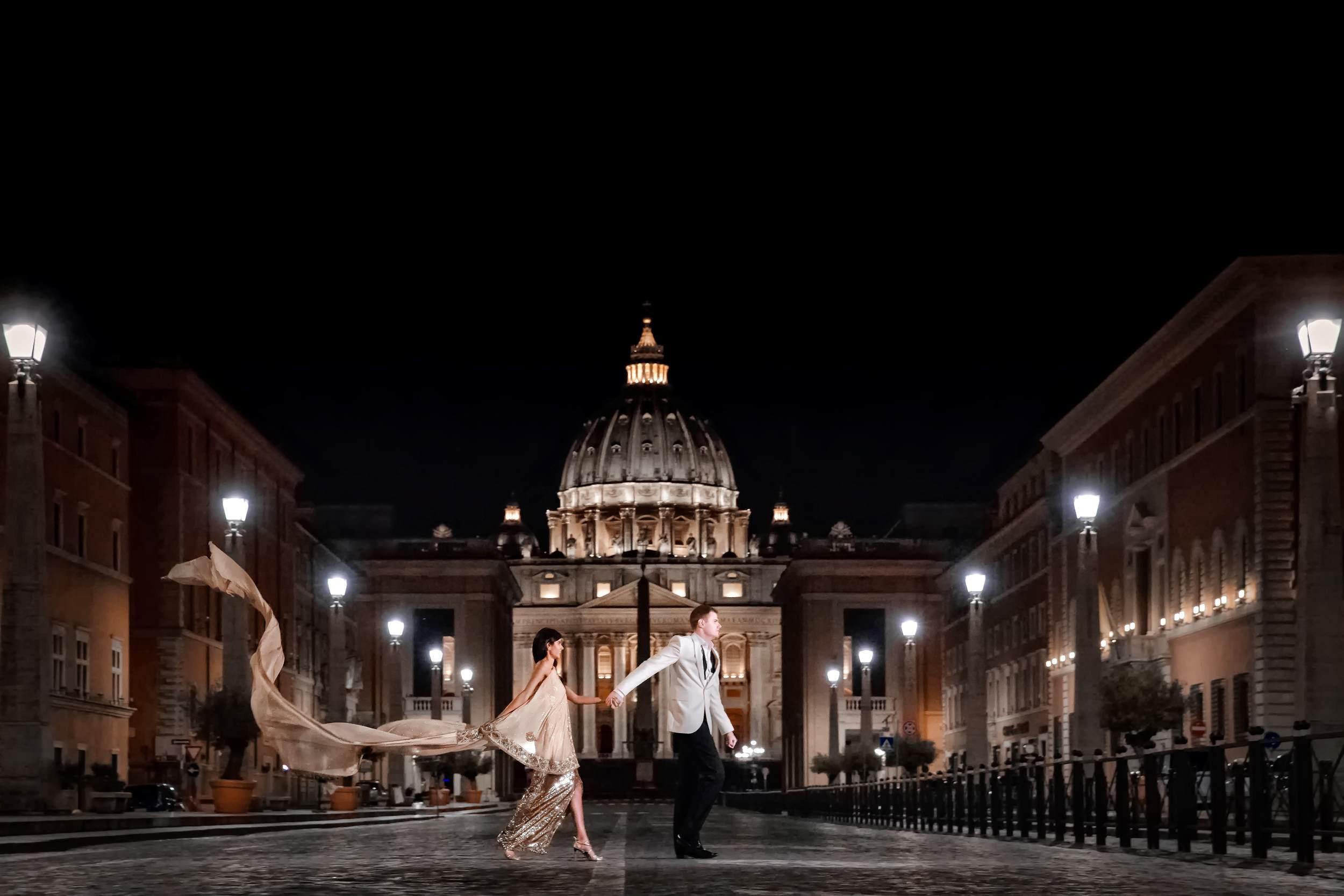 Pooja & James Vatican.jpg