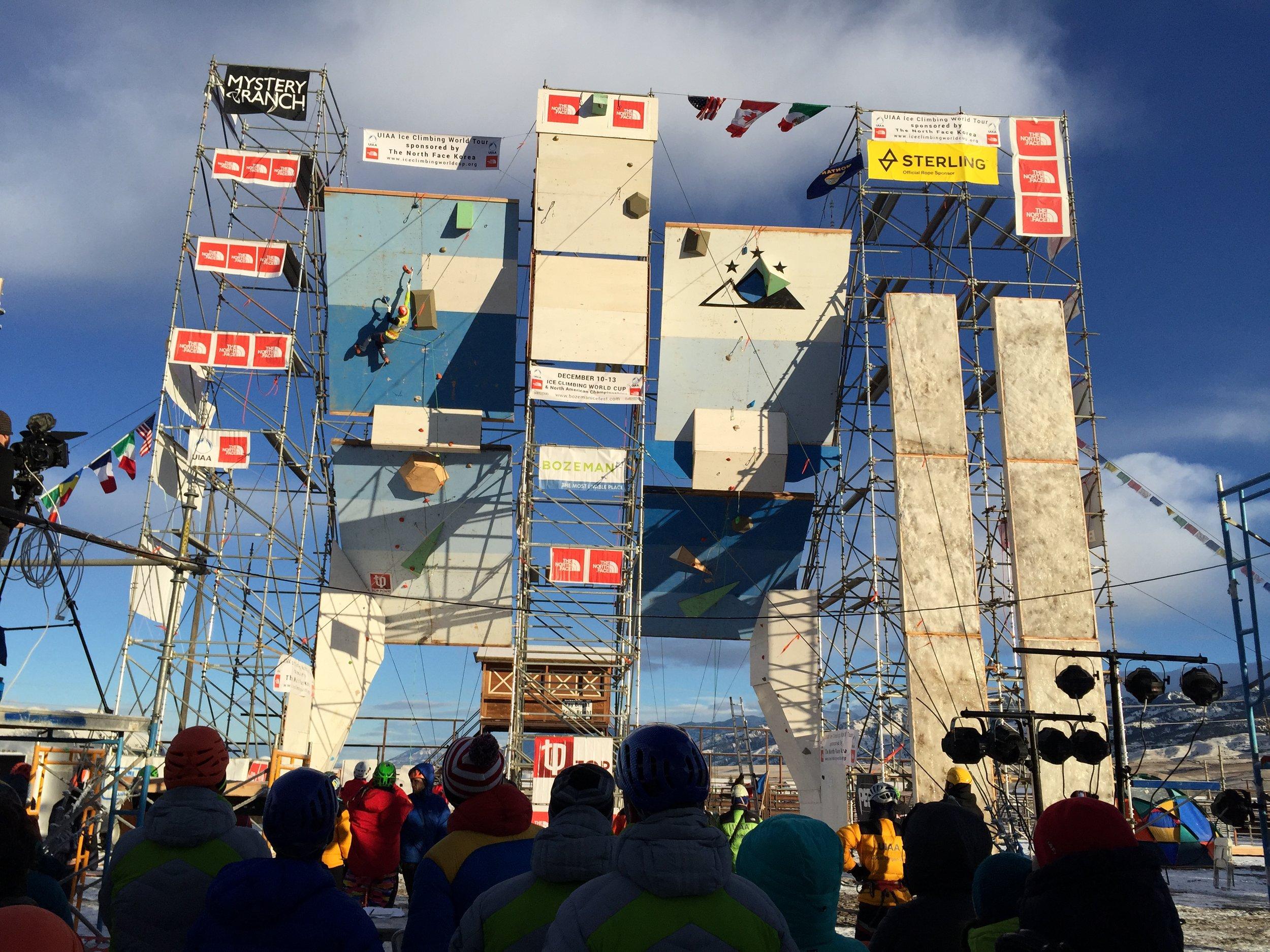 The 2016 Bozeman Ice Climbing World Cup