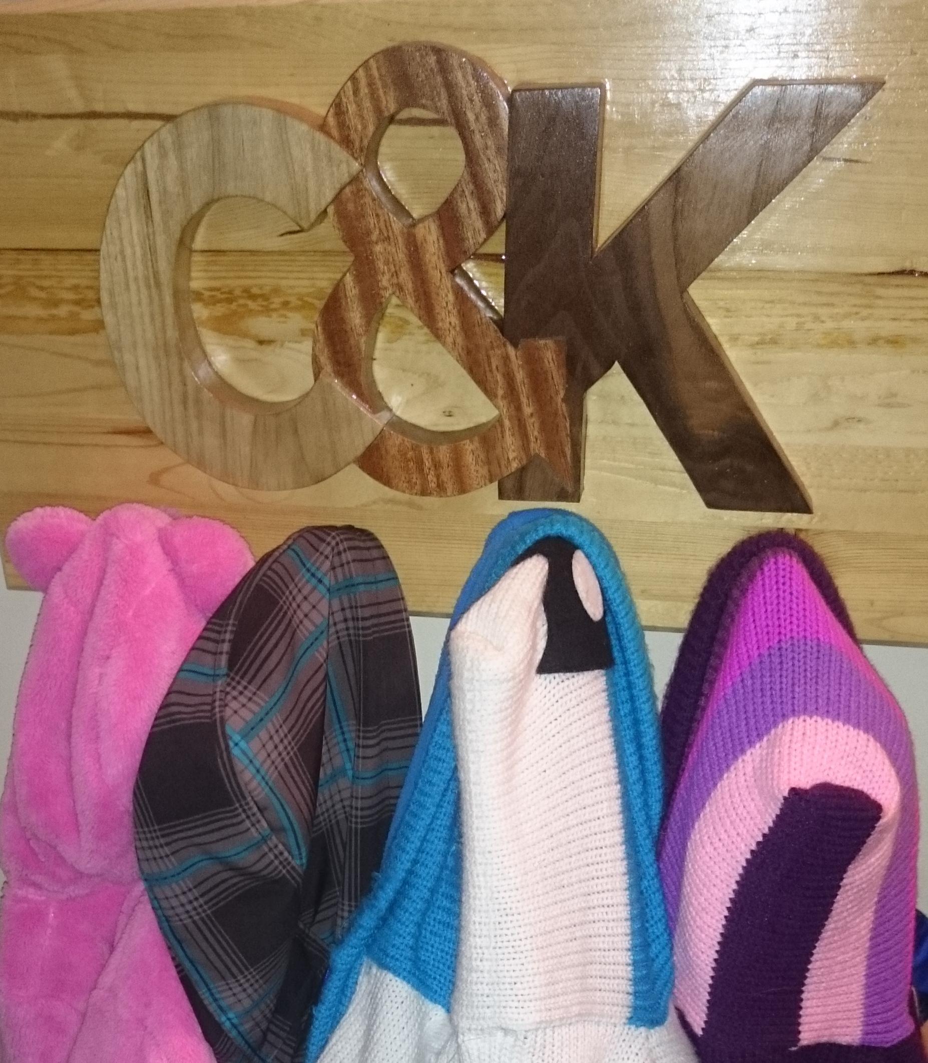 Custom Kids Coat Rack