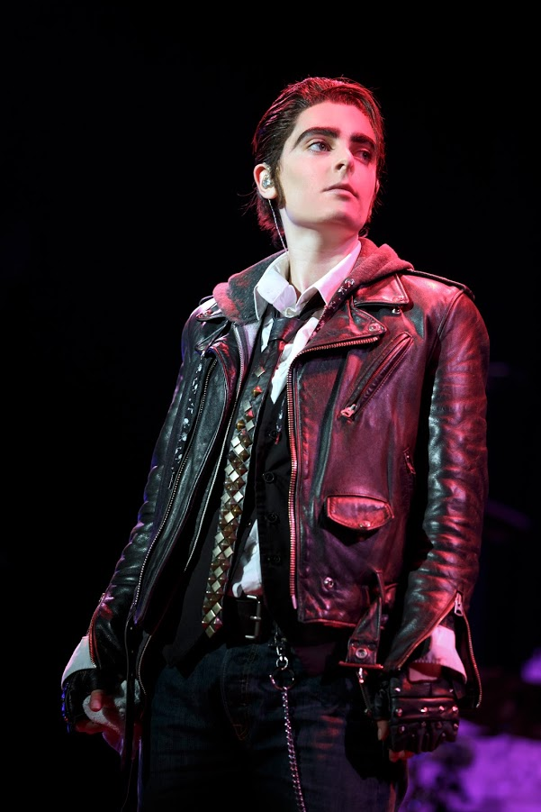 """Hannah Corneau in """"Hedwig and the Angry Inch"""". Photo by Joan Marcus."""