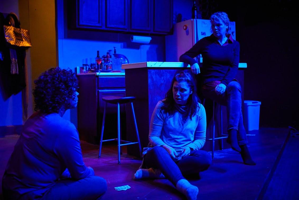 Pamela White-Raines, Lisa Herceg, Kristen Williams. Photograph by John Lee Jennings.
