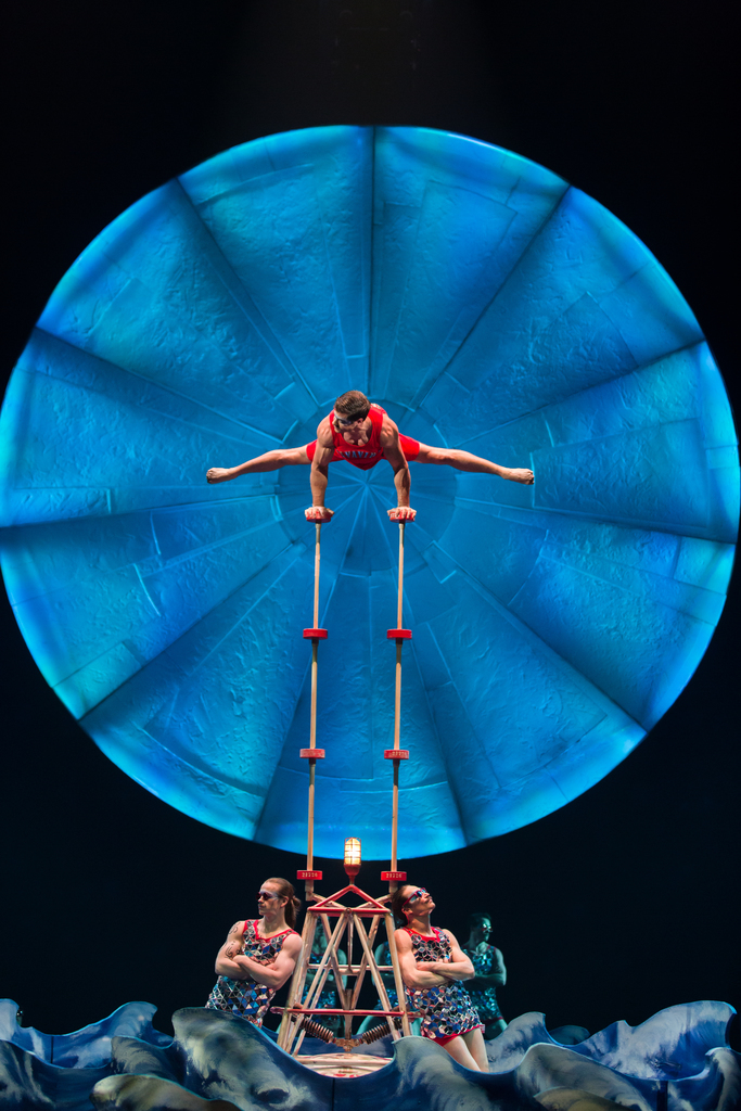 Costume Design: Giovanna Buzzi. Photo: Matt Beard © 2017 Cirque du Soleil
