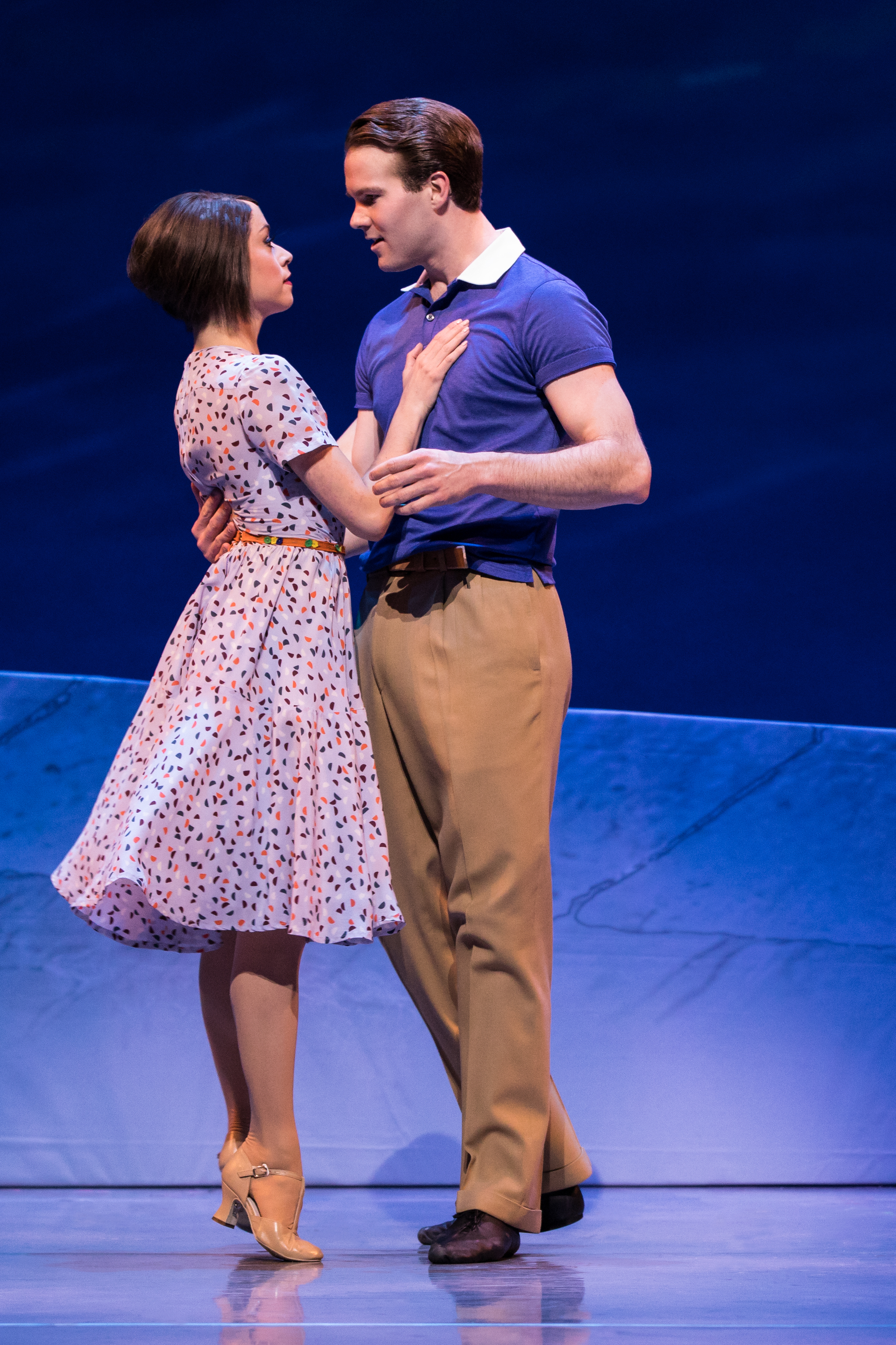 Sara Esty and McGee Maddox in An American in Paris. Photo by Matthew Murphy.