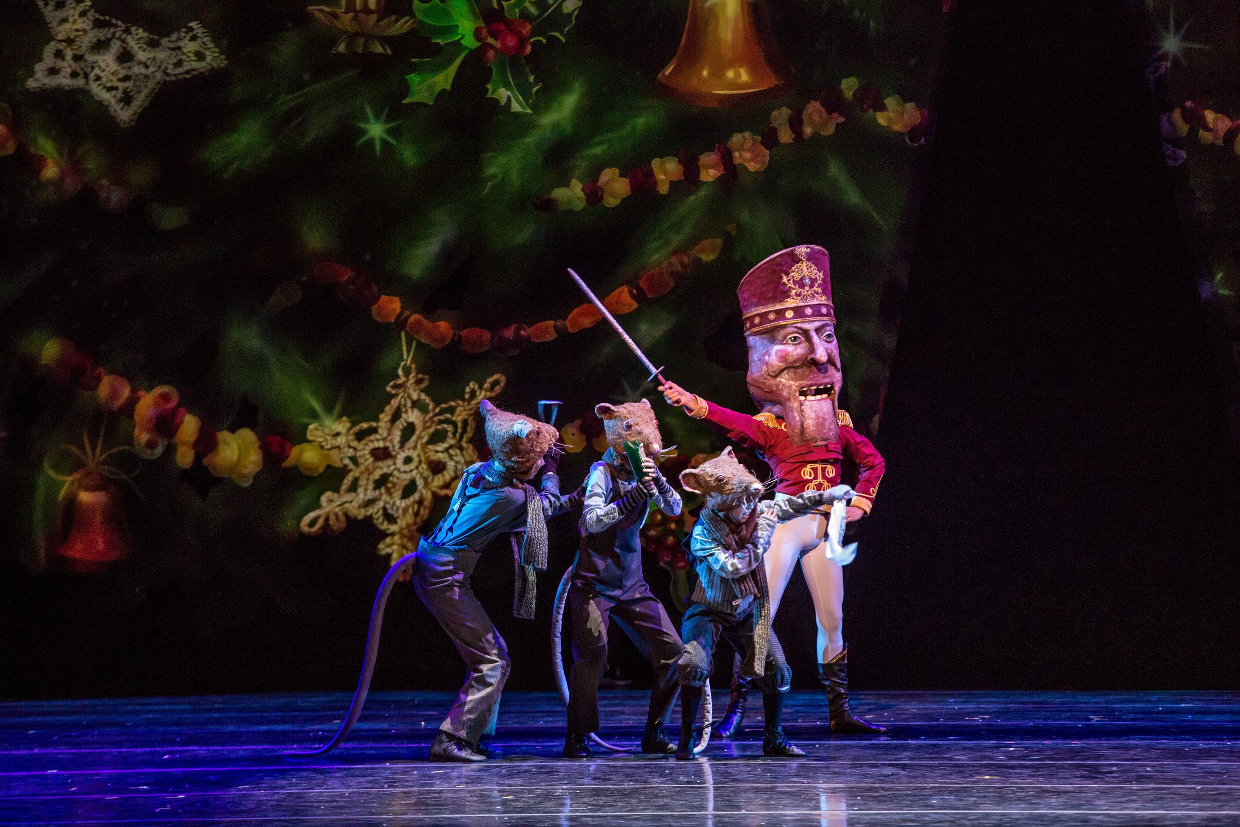 The Joffrey Ballet's  The Nutcracker . Photo by Cheryl Mann