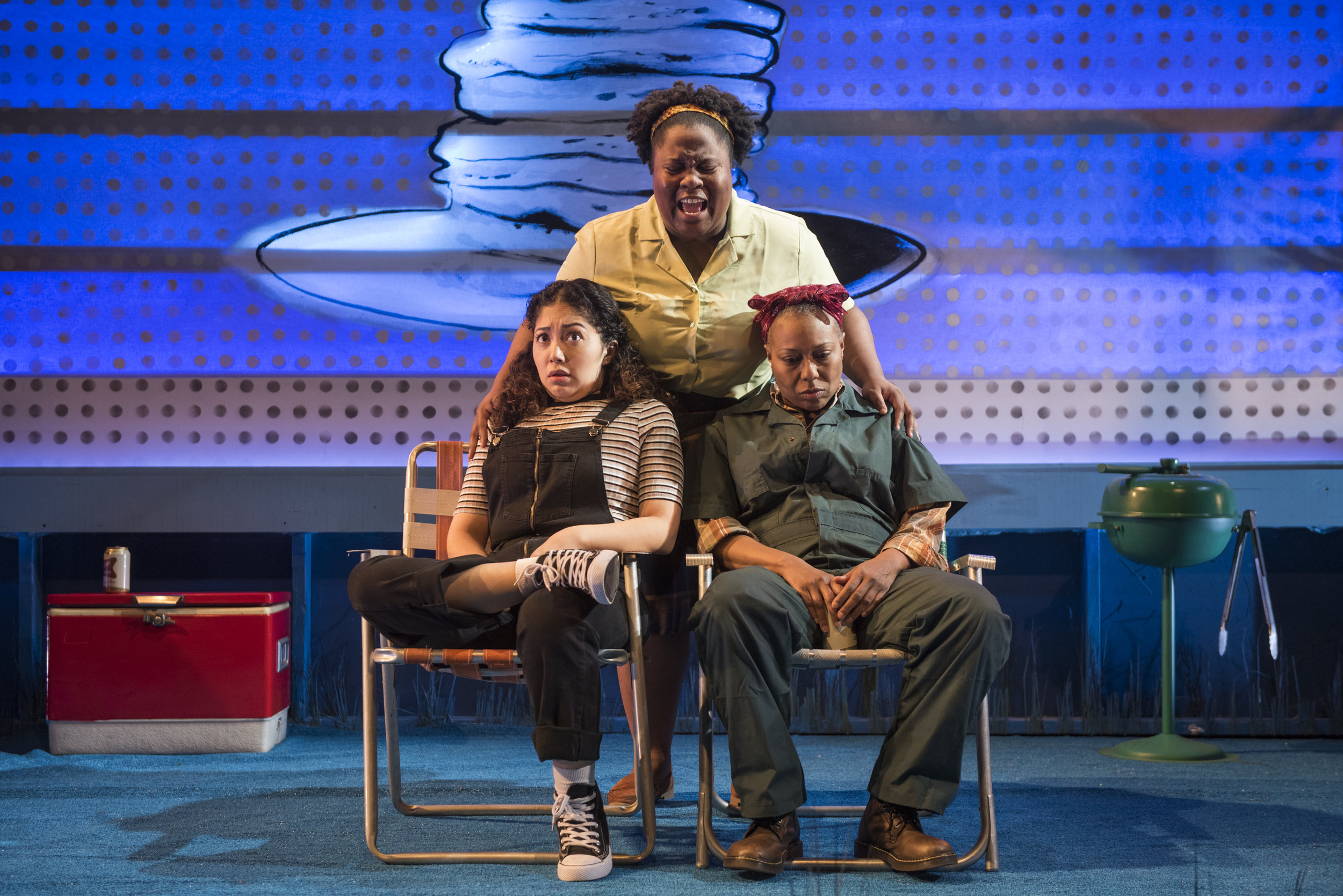 1_Saraí Rodriguez, BrittneyLove Smith and Penelope Walker in We're Gonna Be Okay, credit Michael Brosilow