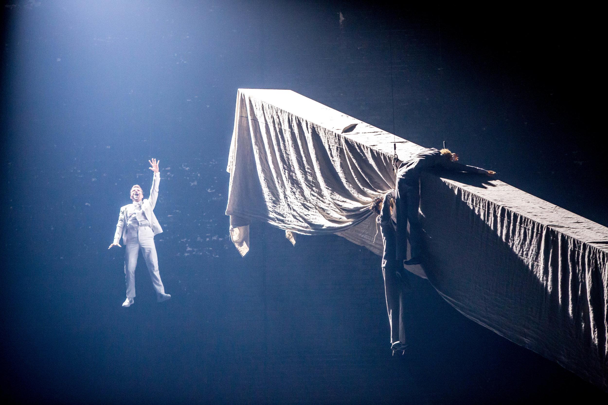 "Derrick Agnoletti in ""Midsummer's Night Dream"". Photo by Cheryl Mann"