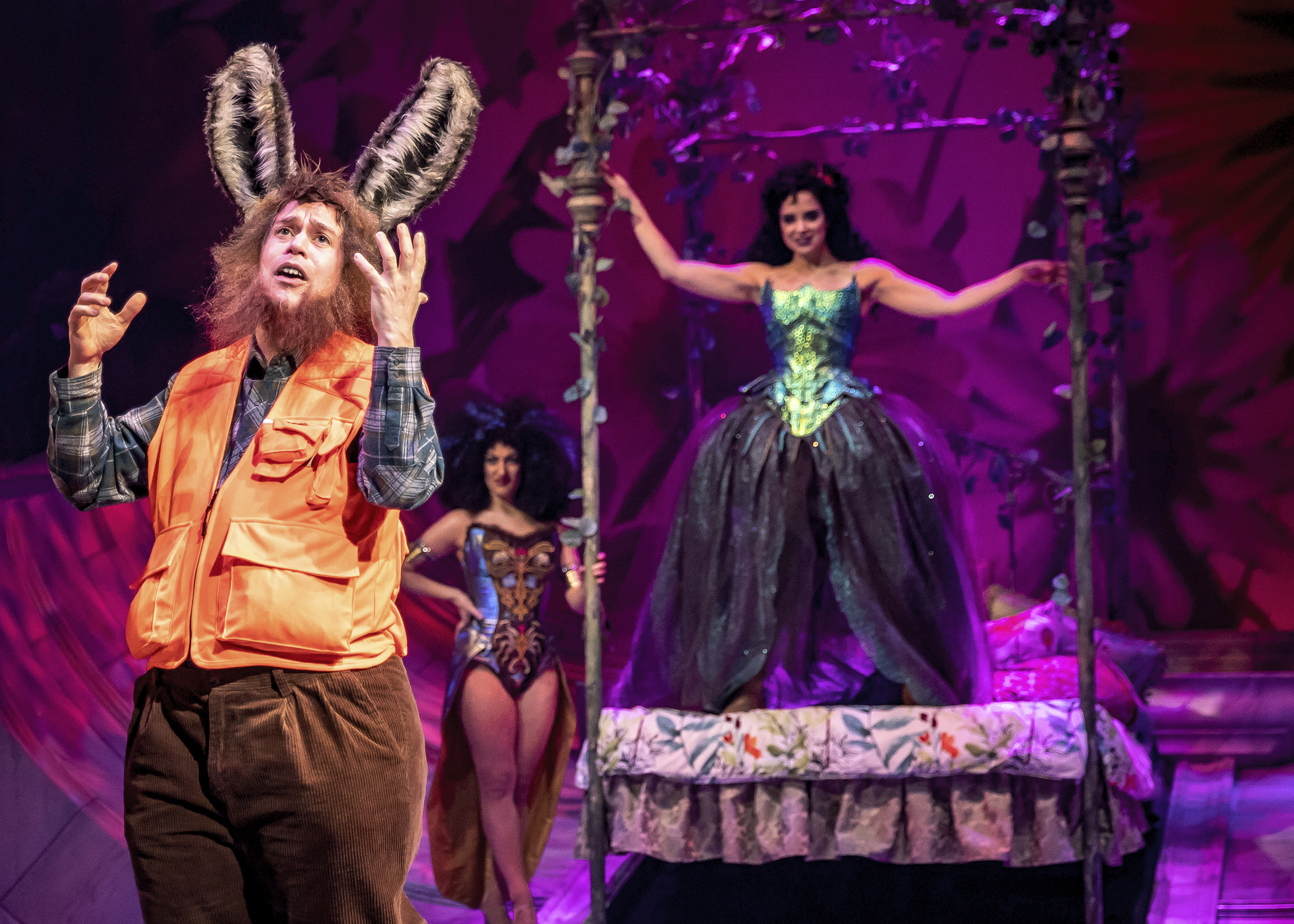 A Midsummer Night's Dream  at Chicago Shakespeare Theater. Photo by Liz Lauren.
