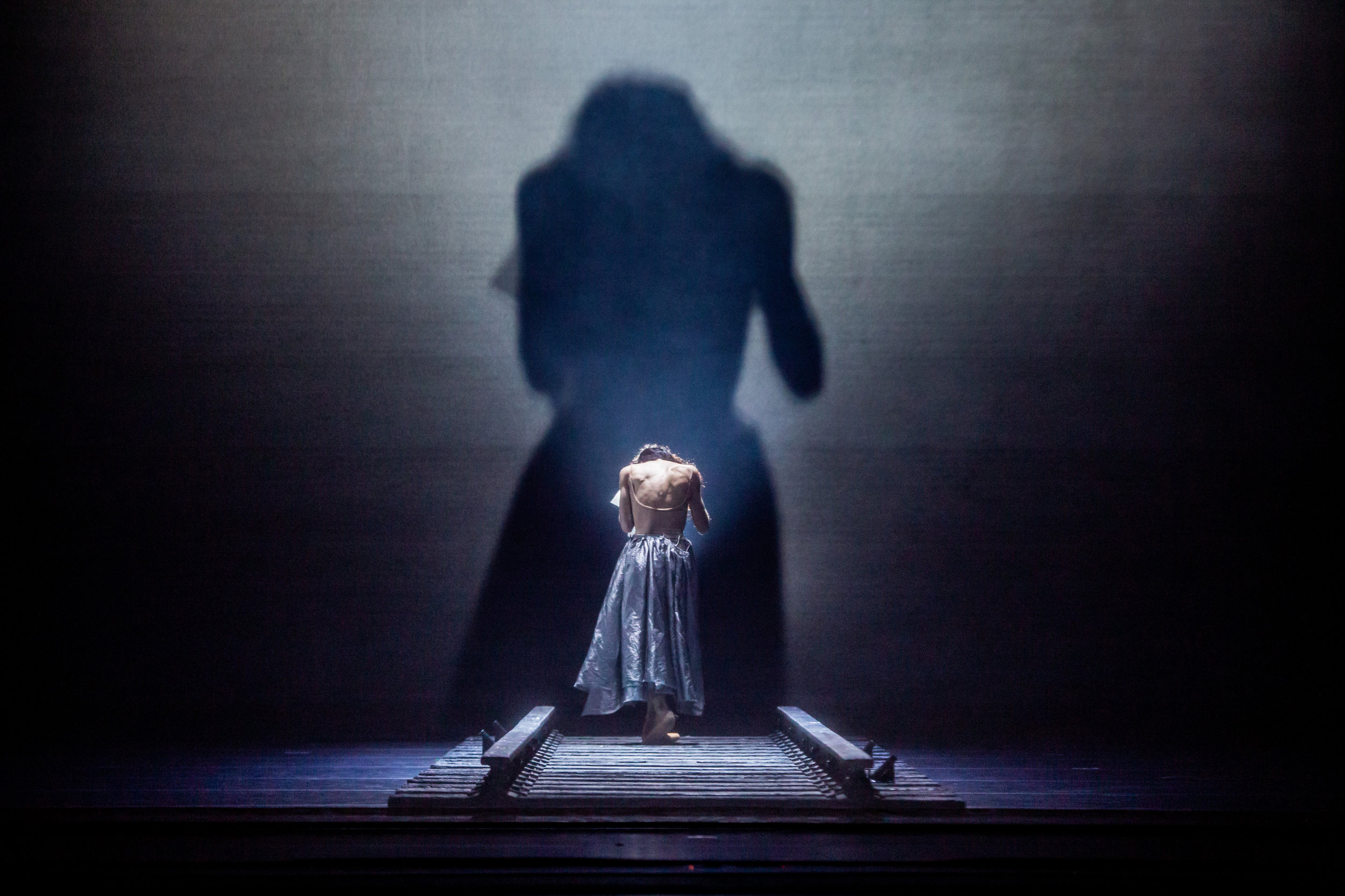 Victoria Jaiani as Anna Karenina. Photo by Cheryl Mann.