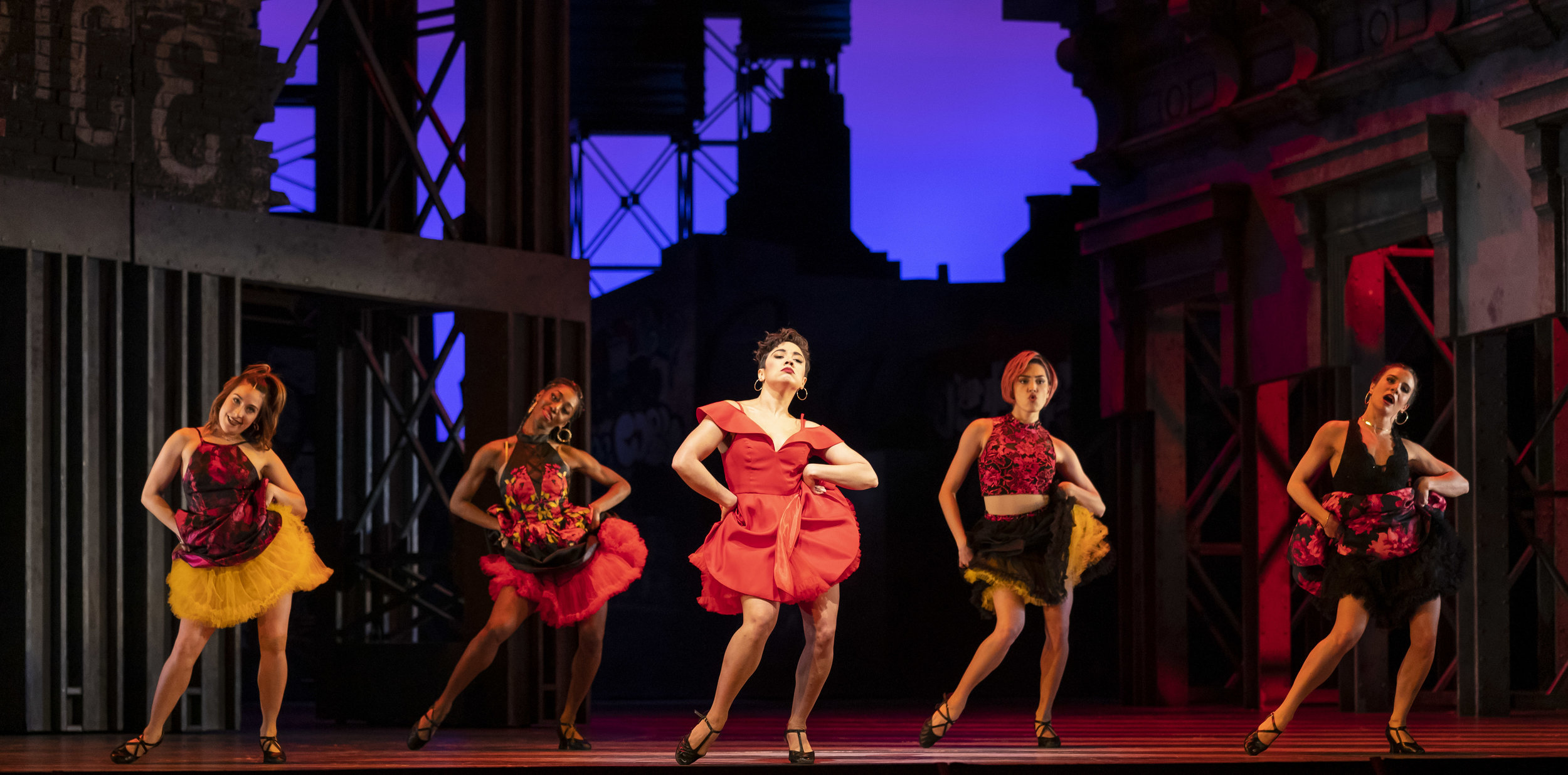 Amanda Castro in WEST SIDE STORY at Lyric Opera of Chicago. Photo by Todd Rosenberg