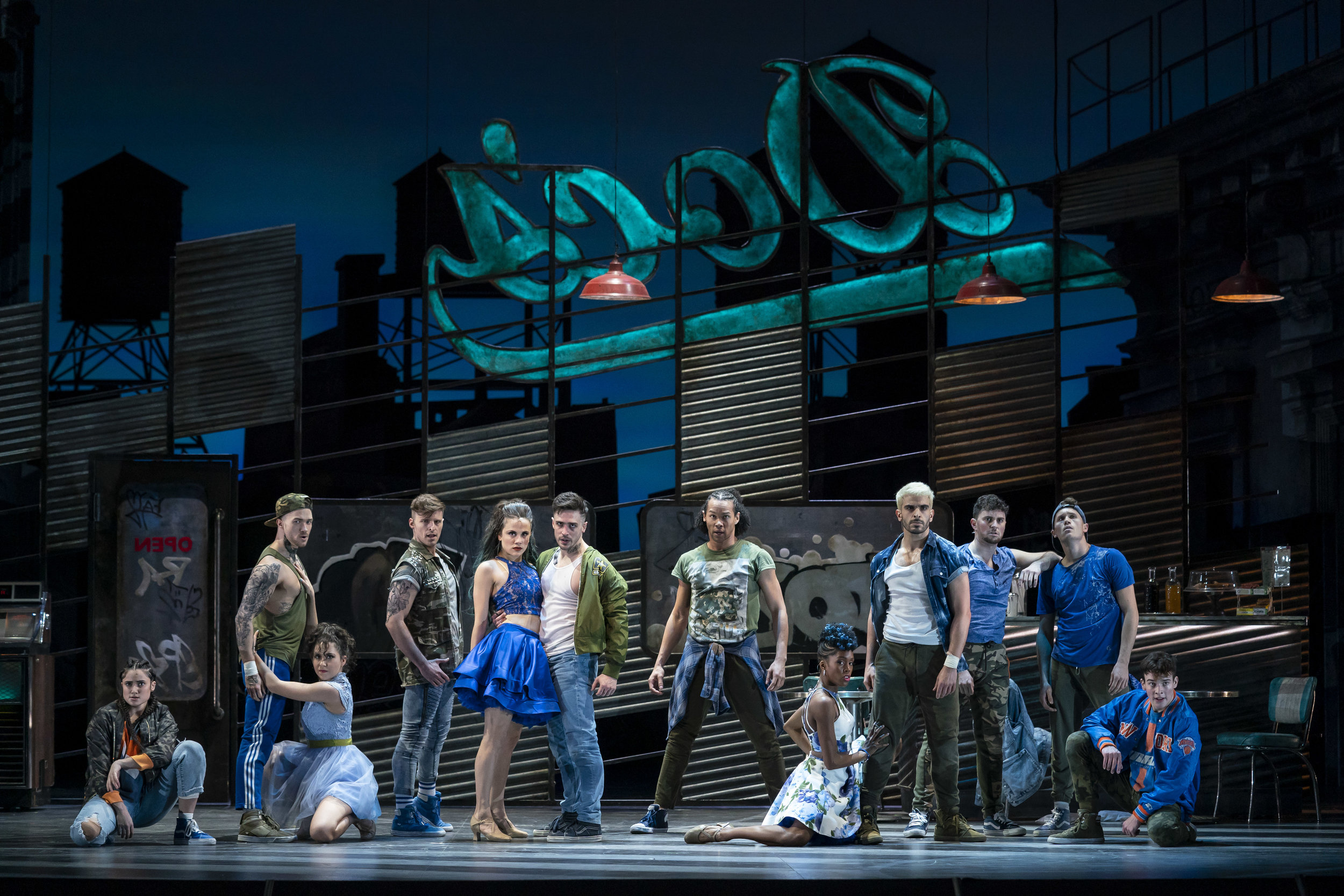 WEST SIDE STORY at Lyric Opera of Chicago. Photo by Todd Rosenberg