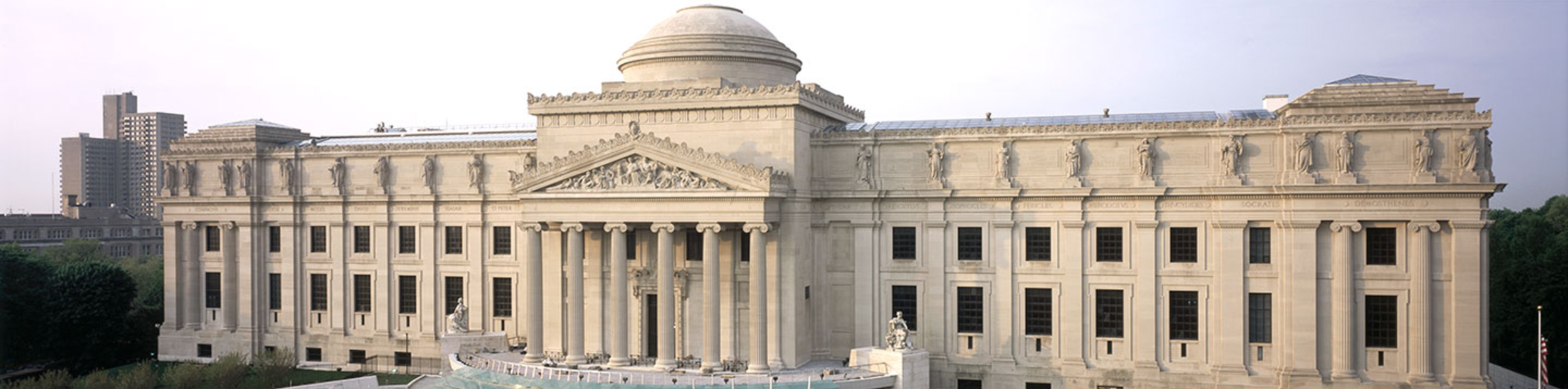 https://www.brooklynmuseum.org/   200 Eastern Parkway Brooklyn, NY  At the Brooklyn Museum you can explore an extensive and comprehensive permanent collection that includes ancient Egyptian masterpieces, African art, European painting, decorative arts, period rooms, and contemporary art.