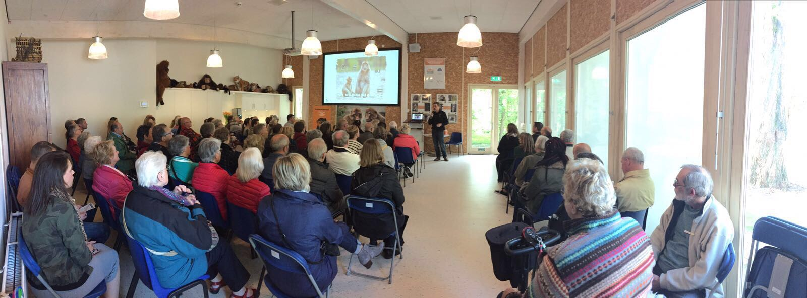 Directeur David van Gennep in actie.