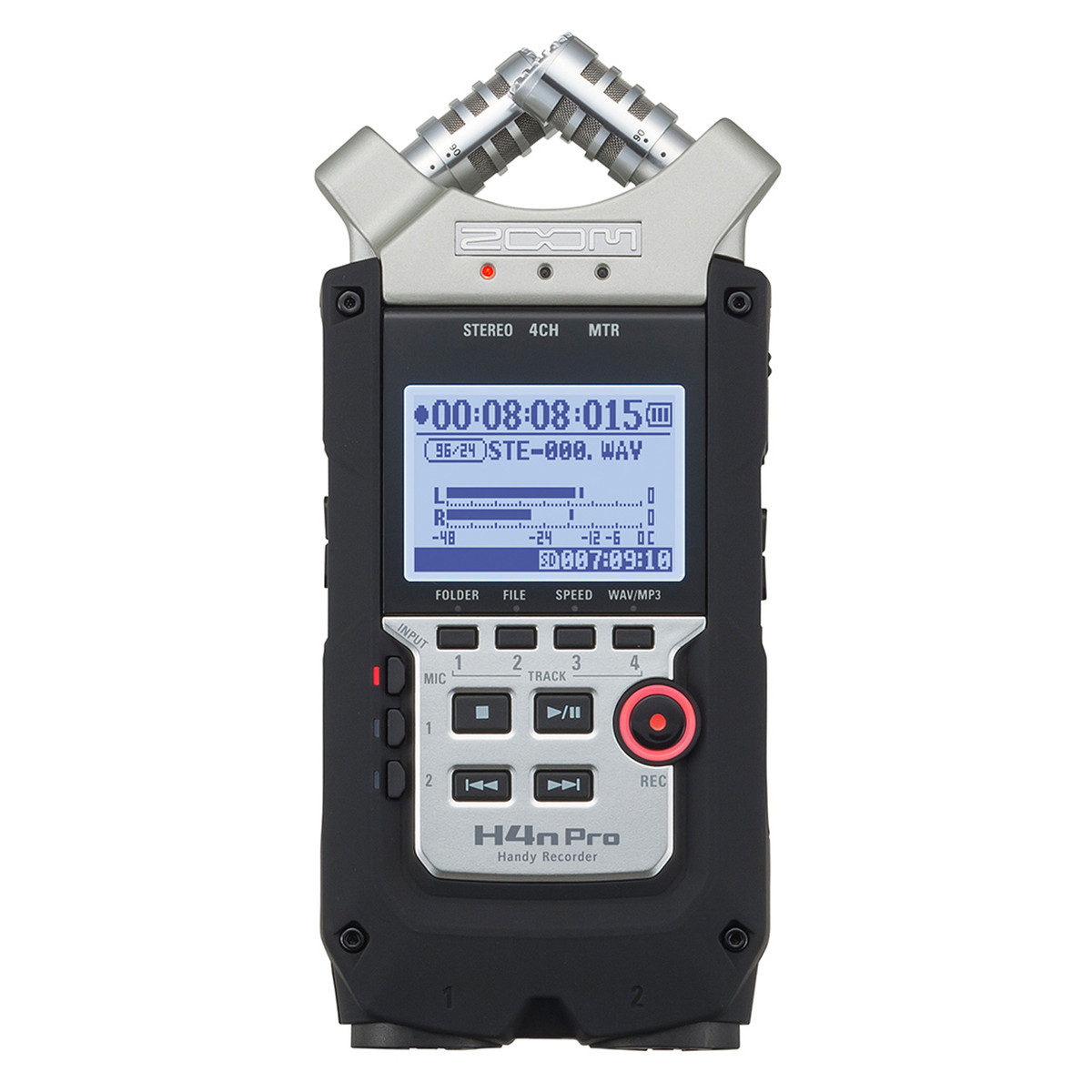 Zoom H4n Pro Handy Portable Recorder -