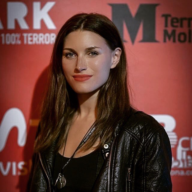 Our Producer Andréa Winter at @terrormolins @bloodparadisemovie #bloodparadise Photo by @joangosastudio