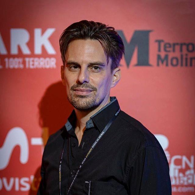 Actor Christer Cavallius at @bloodparadisemovie @christercavallius @joangosastudio