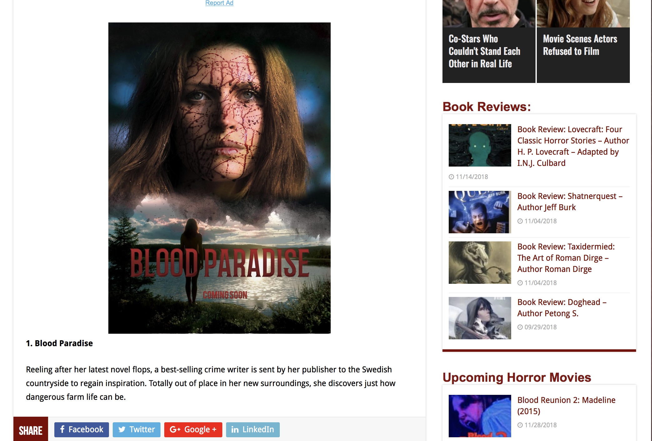 HORROWNEWS.NET - We have a brand new batch of independent horror movies coming our way in 2019 and here are ten of them that we need to keep a close eye on…
