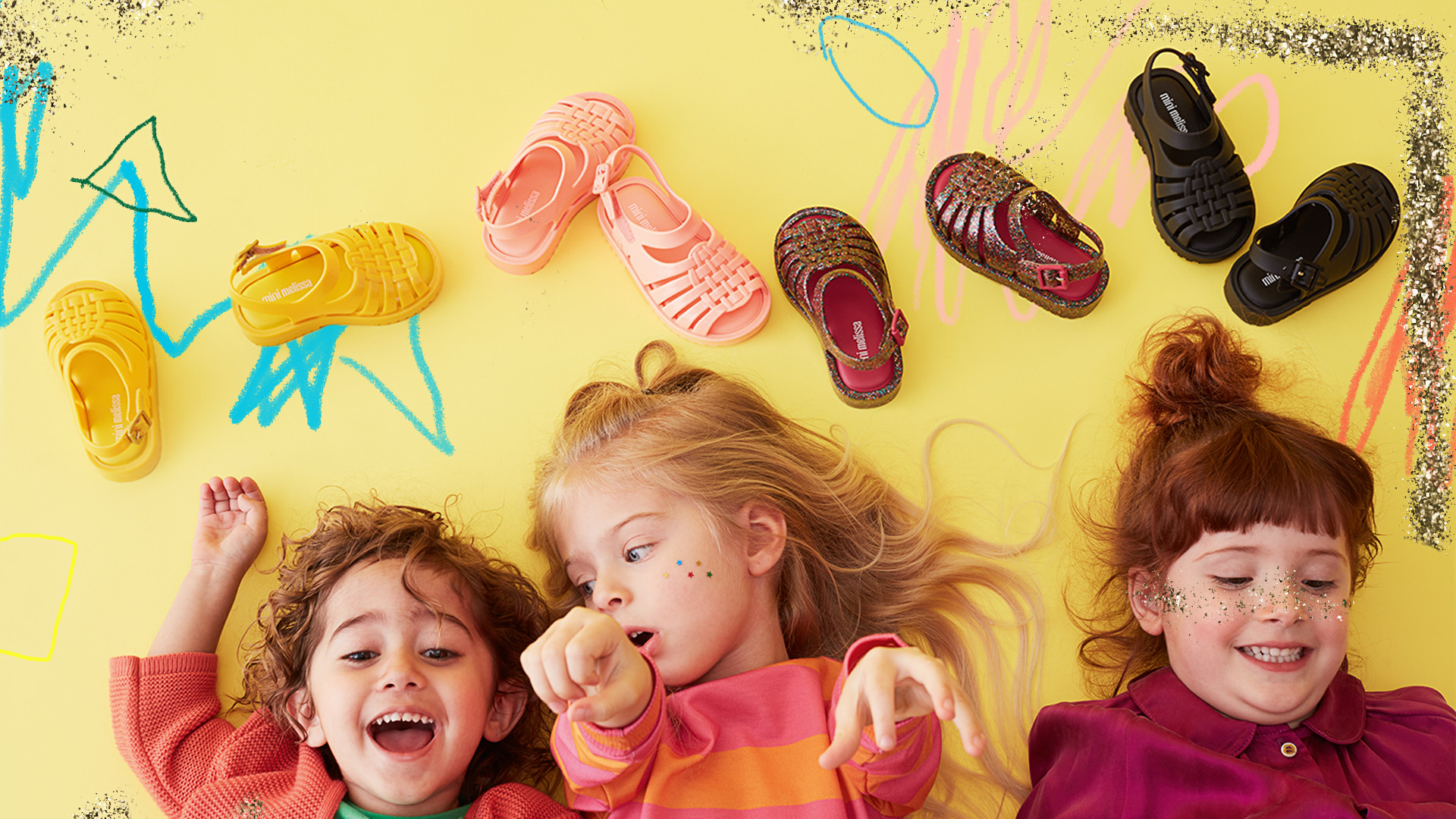Mini Melissa - Jelly shoes,made in Brazil.fun to wear and fun to smell.