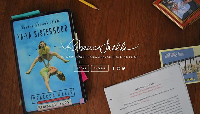 New site launched. 💕  Design by @girlgotmoxie. Link in bio. www.rebeccawellsbooks.com