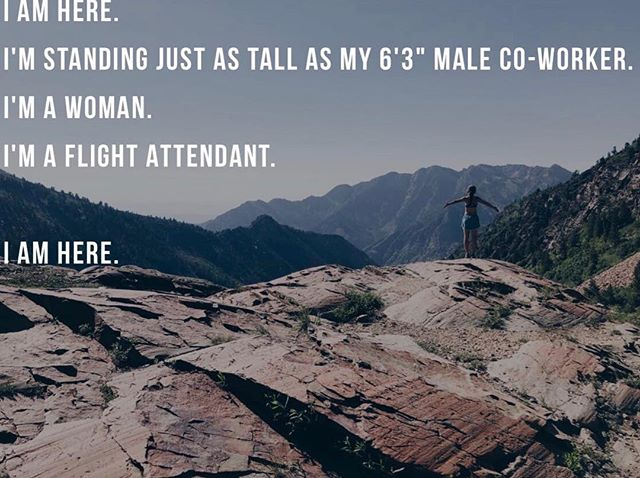 Working in a female dominated field doesn't make me any less susceptible to experiencing unwanted comments, advances, and systematic sexism. In defiance with all of the women who have bravely confronted the 'system' I'm sharing a peek into my experiences in a year and a half with the airline industry. As a human being, how do you stand up for yourself? #linkinbio . . . . #flightattendant #flightattendantlife #misogynyinaviation #misogyny #lifebetweenlattes #getoutside #femalempowerment #thefutureisfemale #believewomen #girlswhotravel #screwthepatriarchy