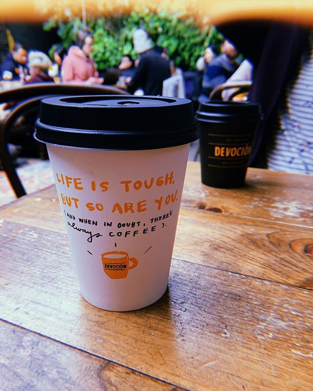 Some Sunday inspiration for your timeline #theresalwayscoffee