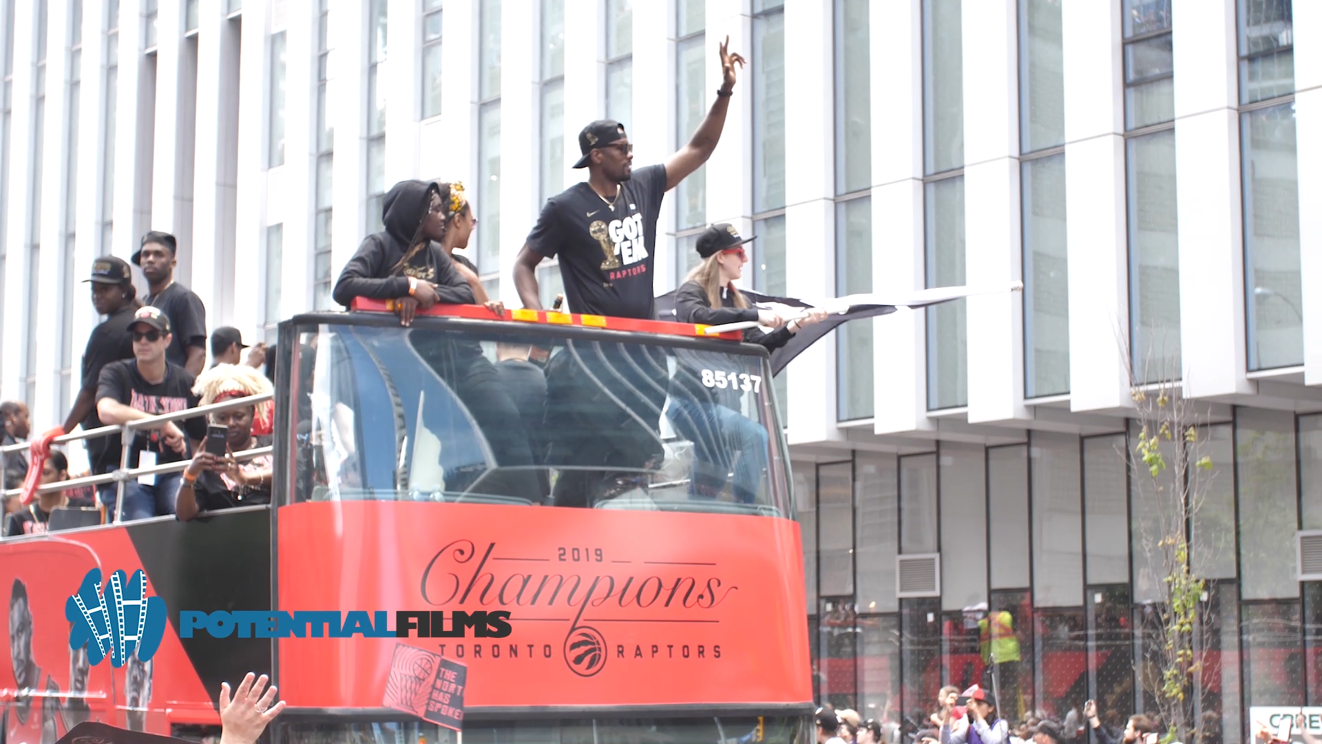 Toronto Raptors Parade 2019 -