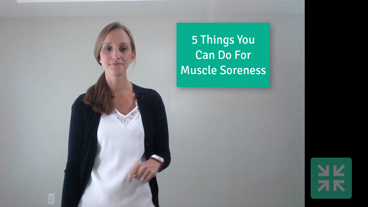 5 things to do for muscle soreness athletity physical therapy dublin ohio