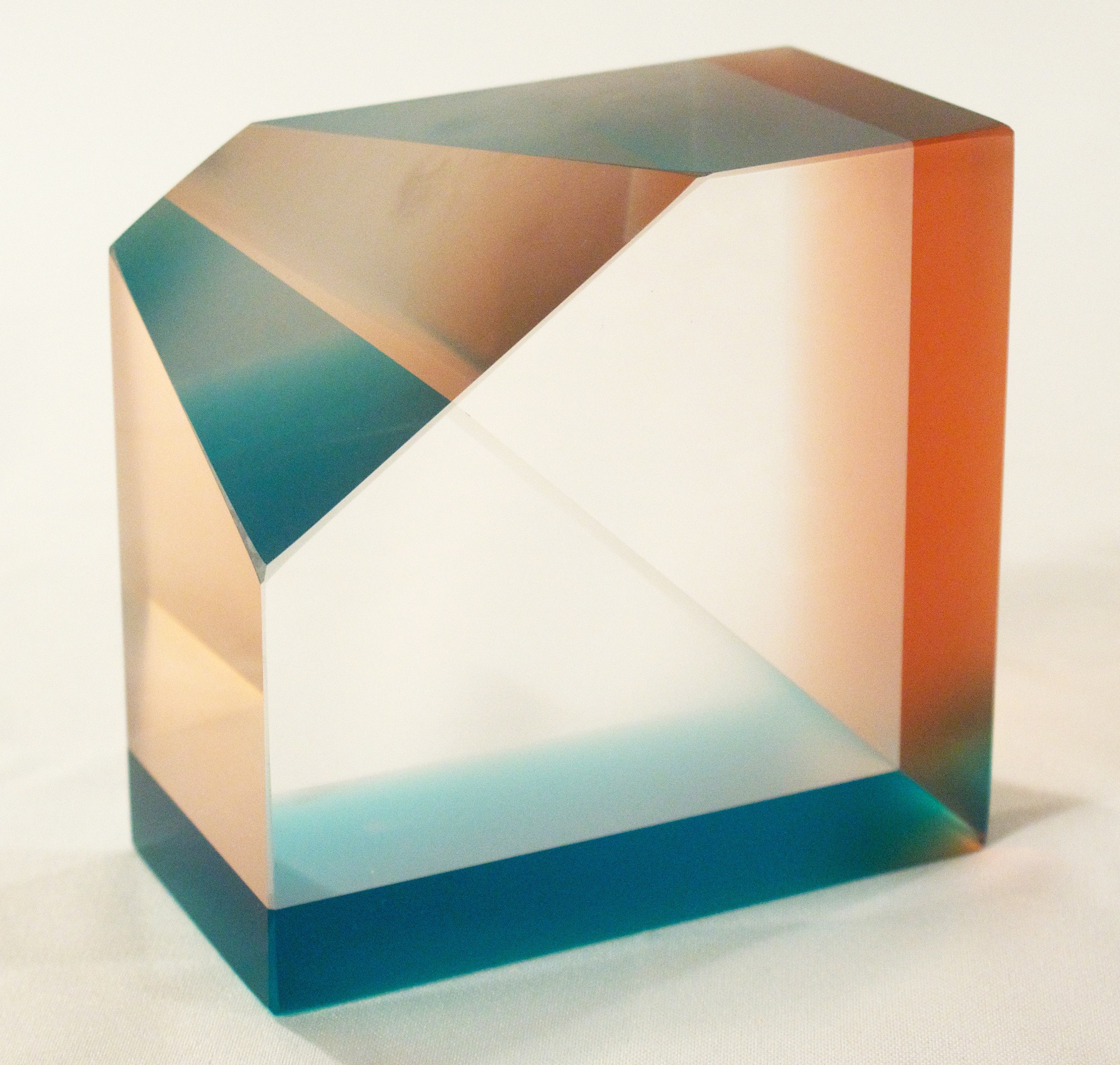 cold-worked optical glass  assembled  2015  donated to CMoG