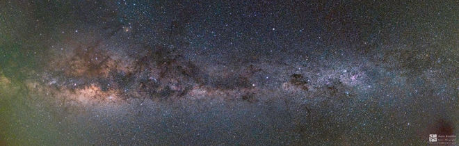 Composite of 10 stitched images       Milky Way Galaxy      by Amit Ashok Campbell